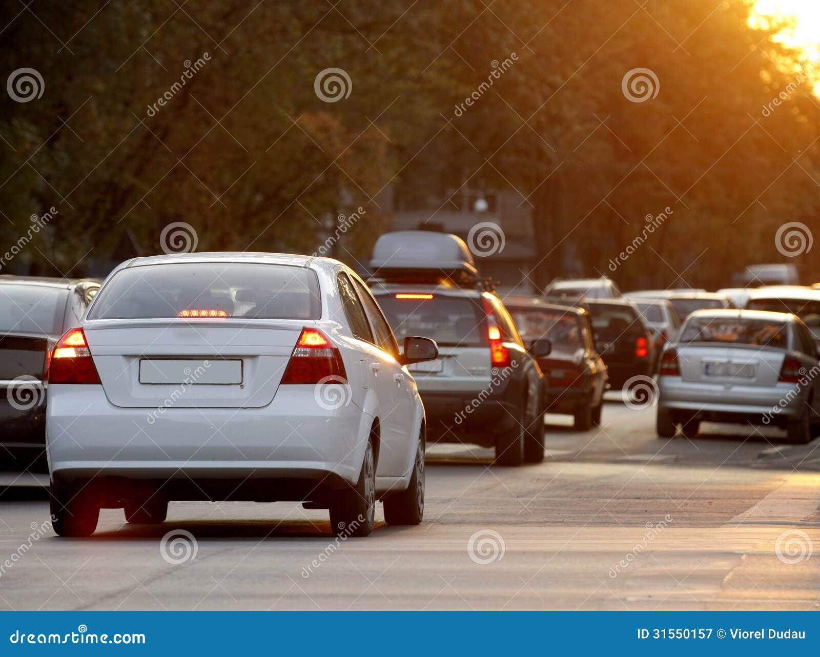 Tung trafik i morgonen