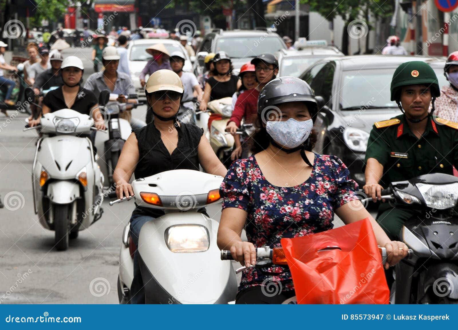 Tung trafik i Saigon