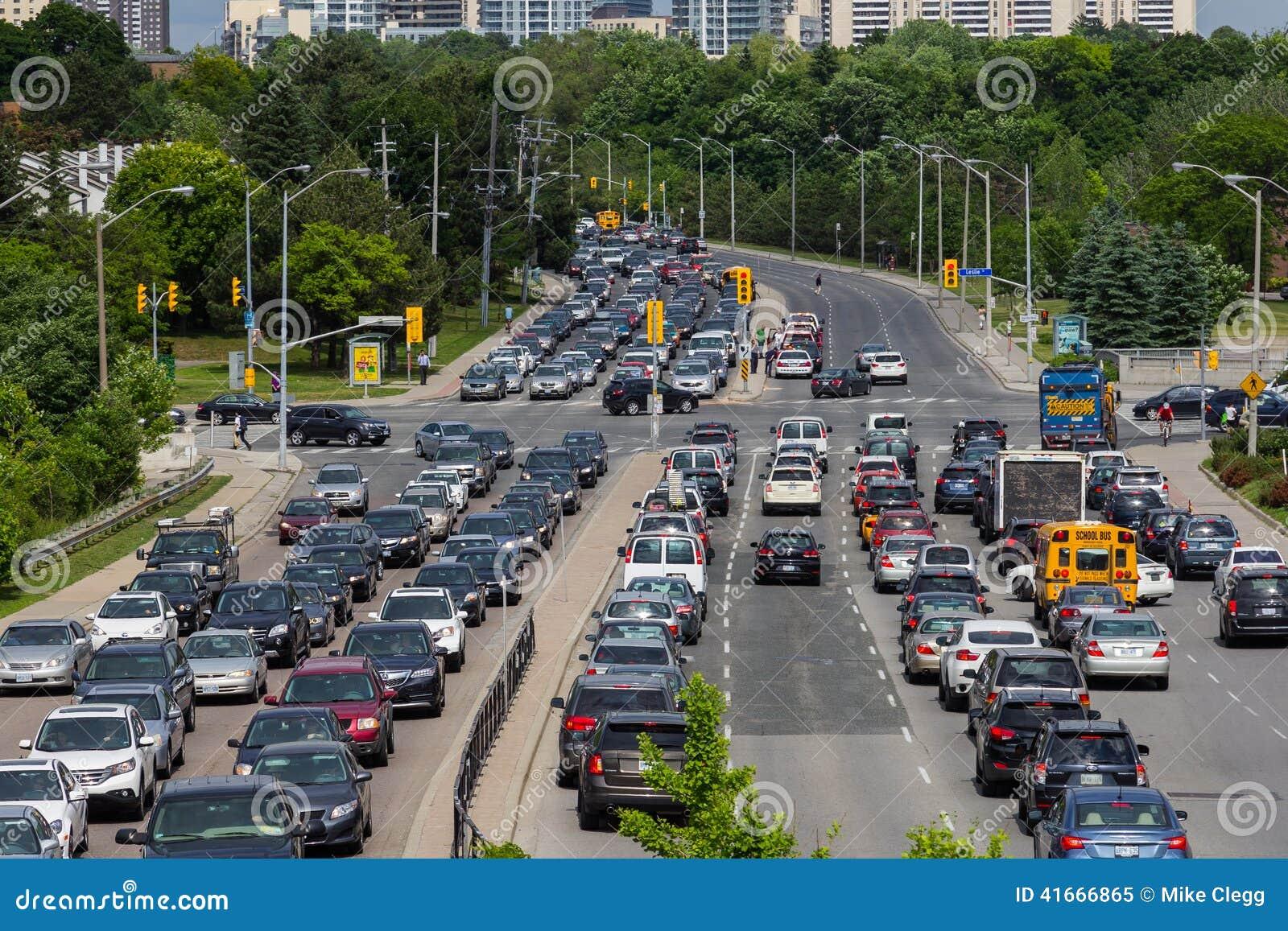 Tung trafik i Toronto