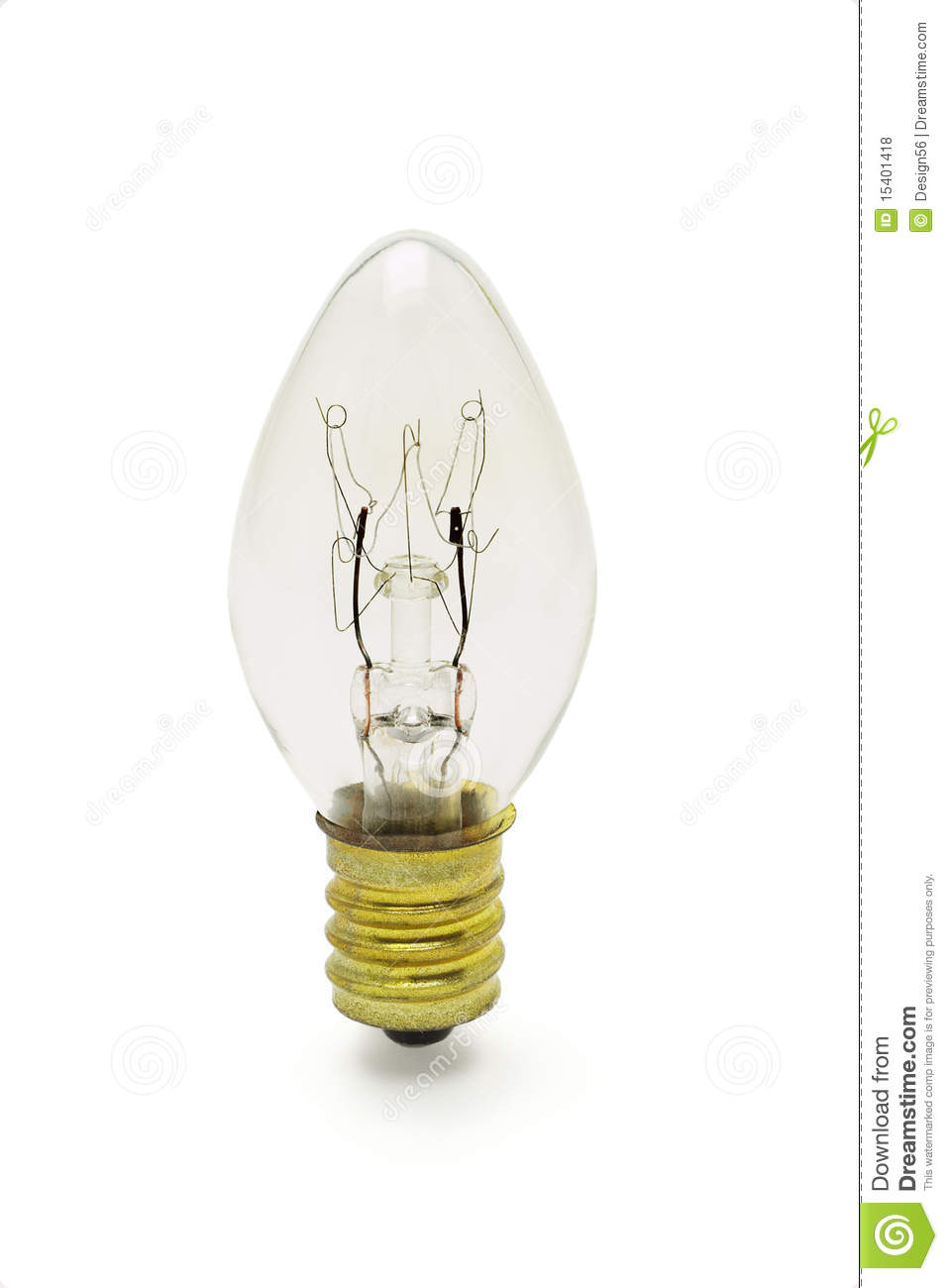 Tungsten Light Bulb Royalty Free Stock Photos Image 15401418