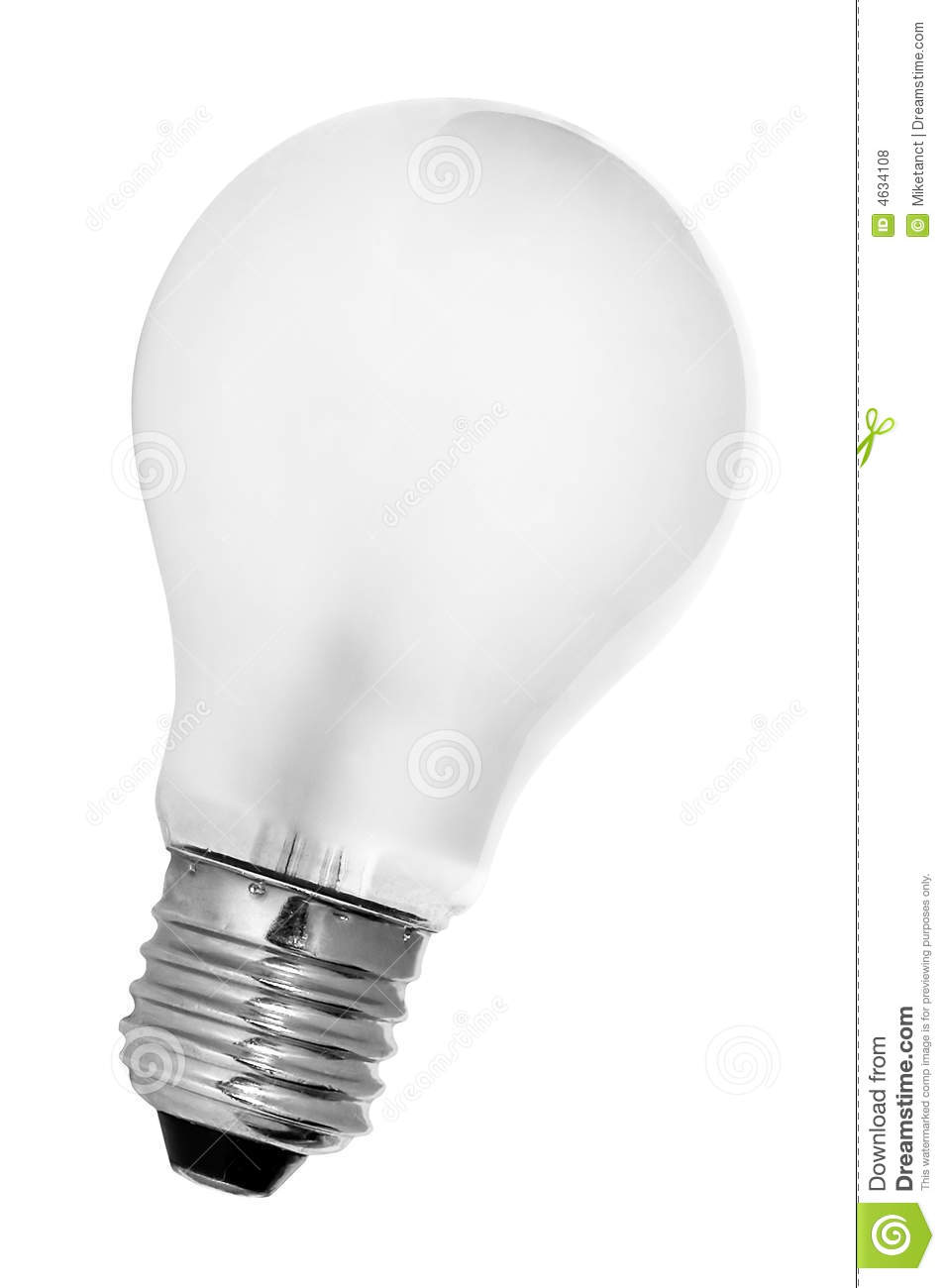 Tungsten Light Bulb Royalty Free Stock Photos Image 4634108