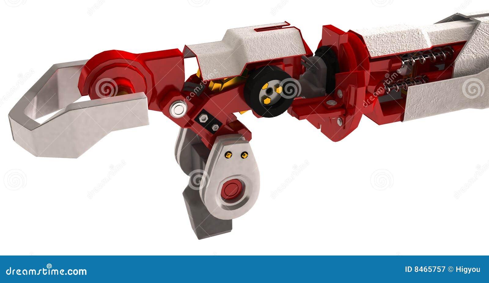 Tungt robotic för arm