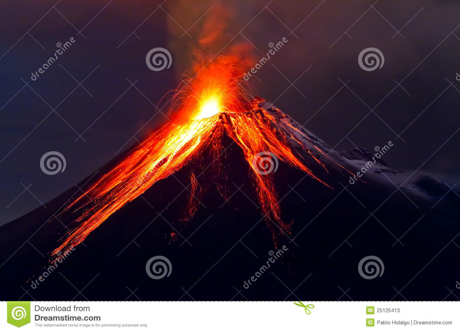 Tungurahua Vulkaneruption