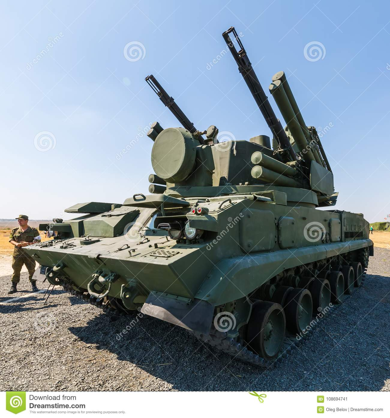 The Pine anti-aircraft missile system in the exposition of the Army-2018 forum 34
