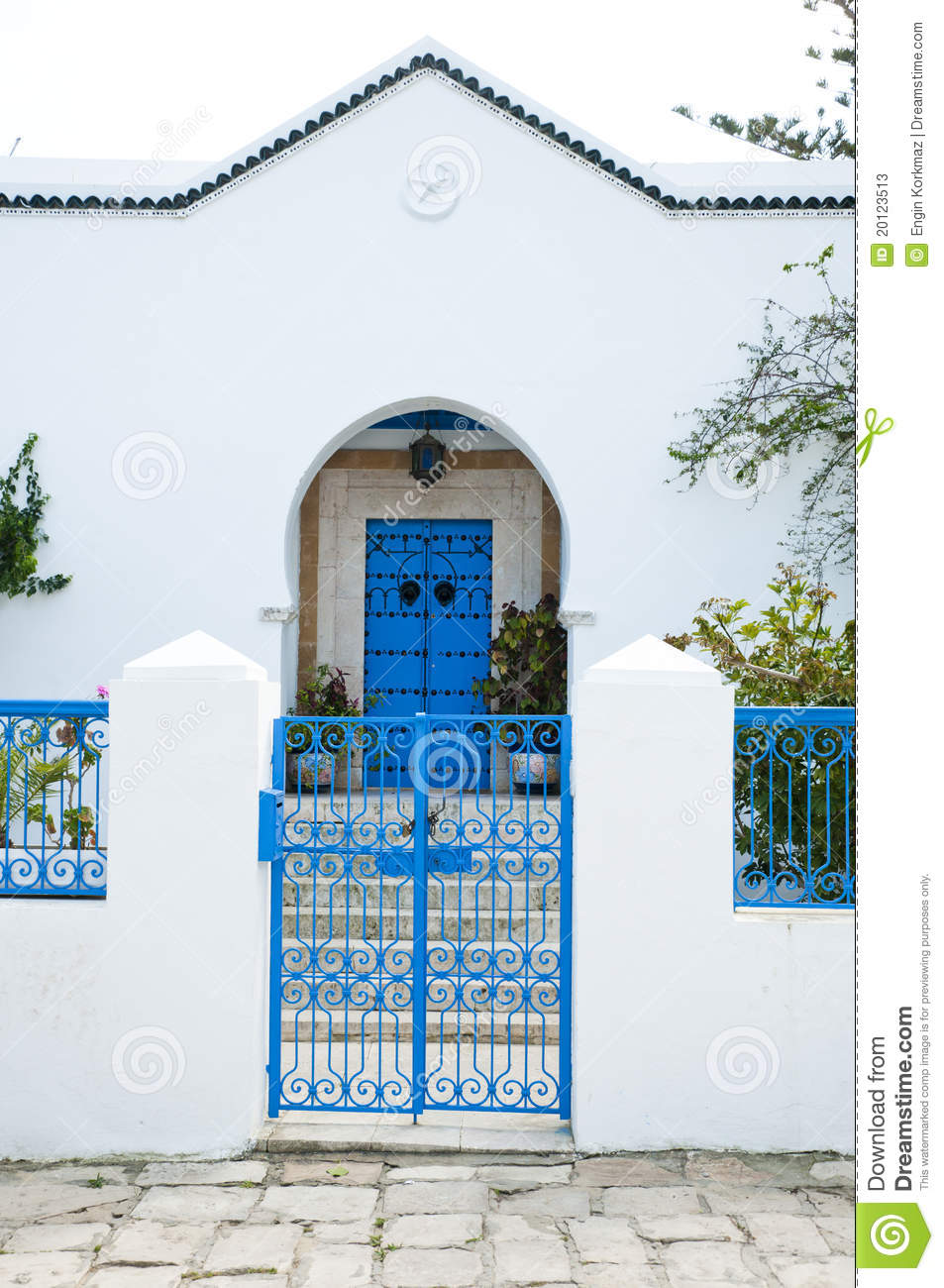 Tunisian House Stock Image Image Of Frontage Africa