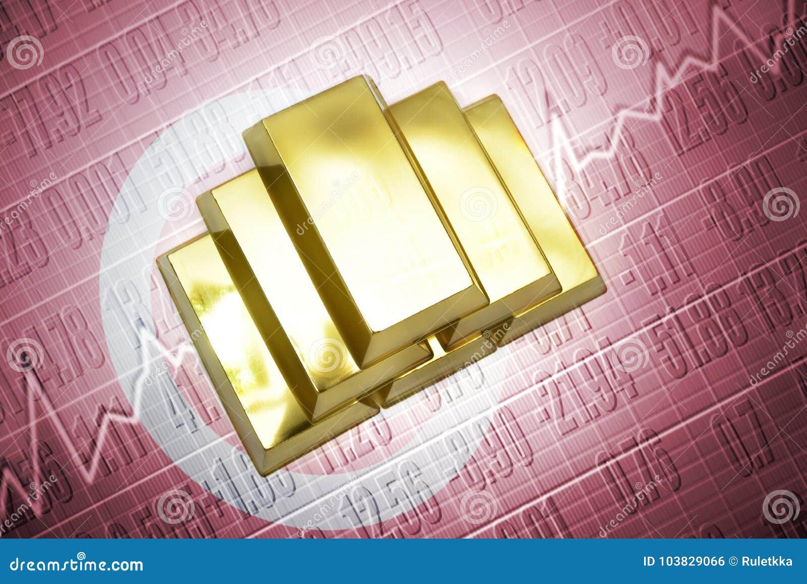 Tunisiska guld- reserver