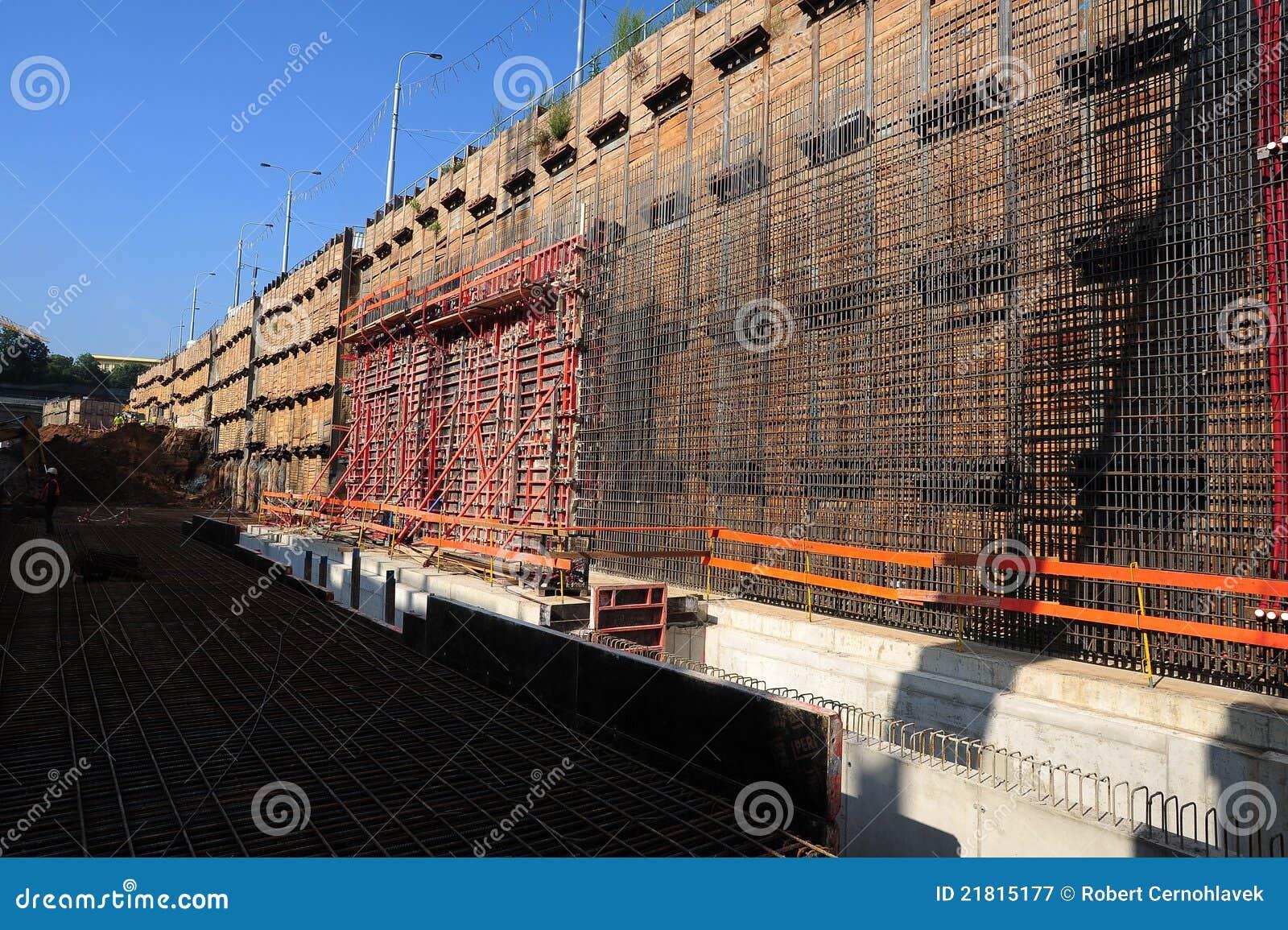 Tunnel för konstruktionslokal