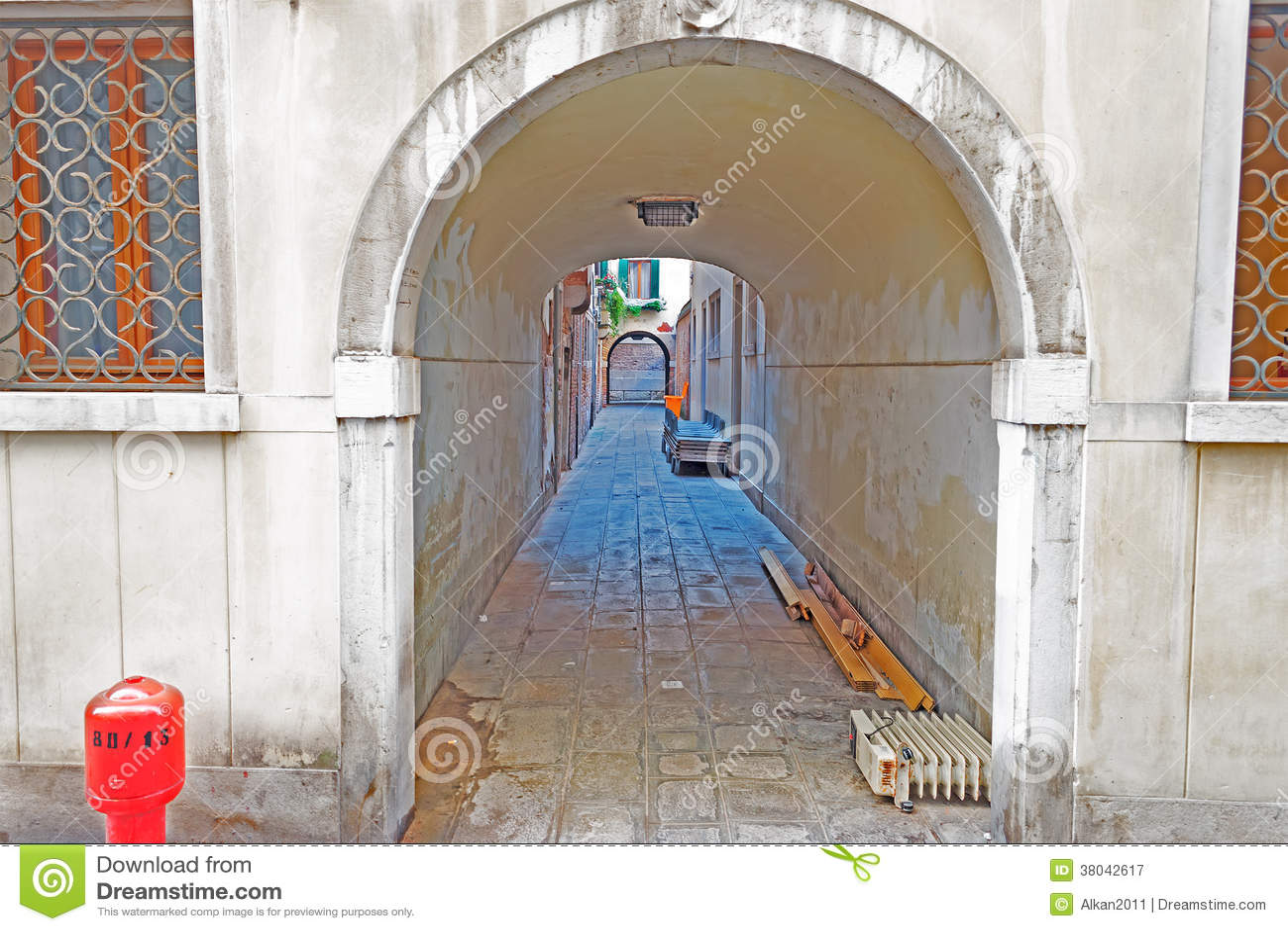 Tunnel urbain