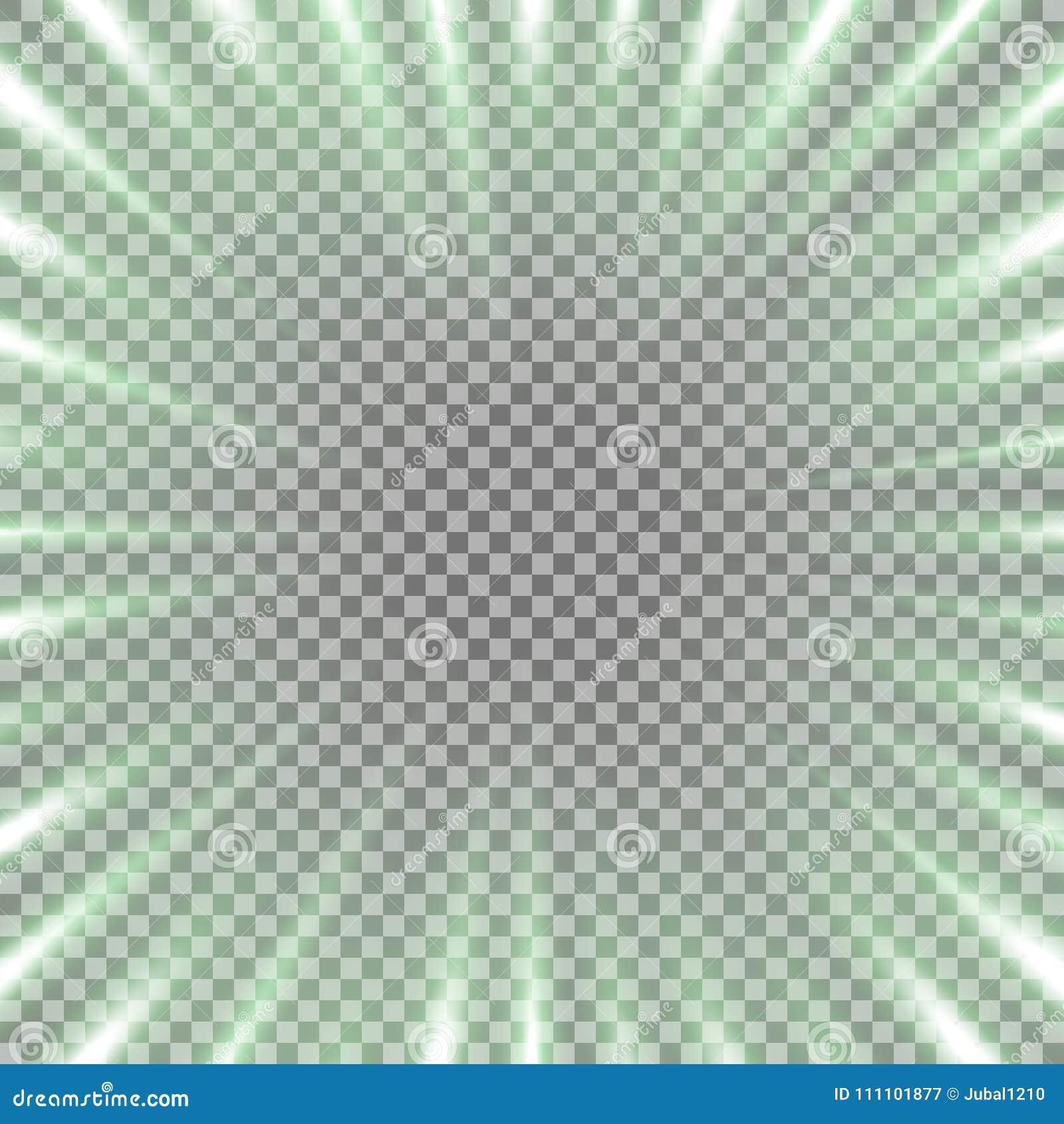 Tunnel van lichte, groene kleur