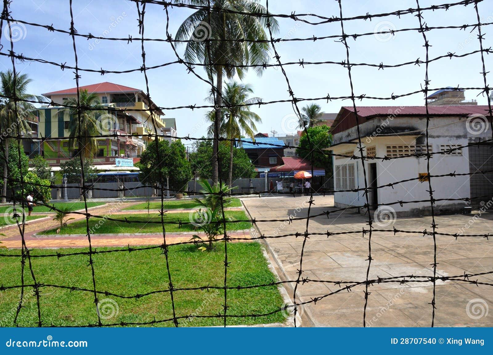 Tuol Sleng种族灭绝博物馆,金边,柬埔寨