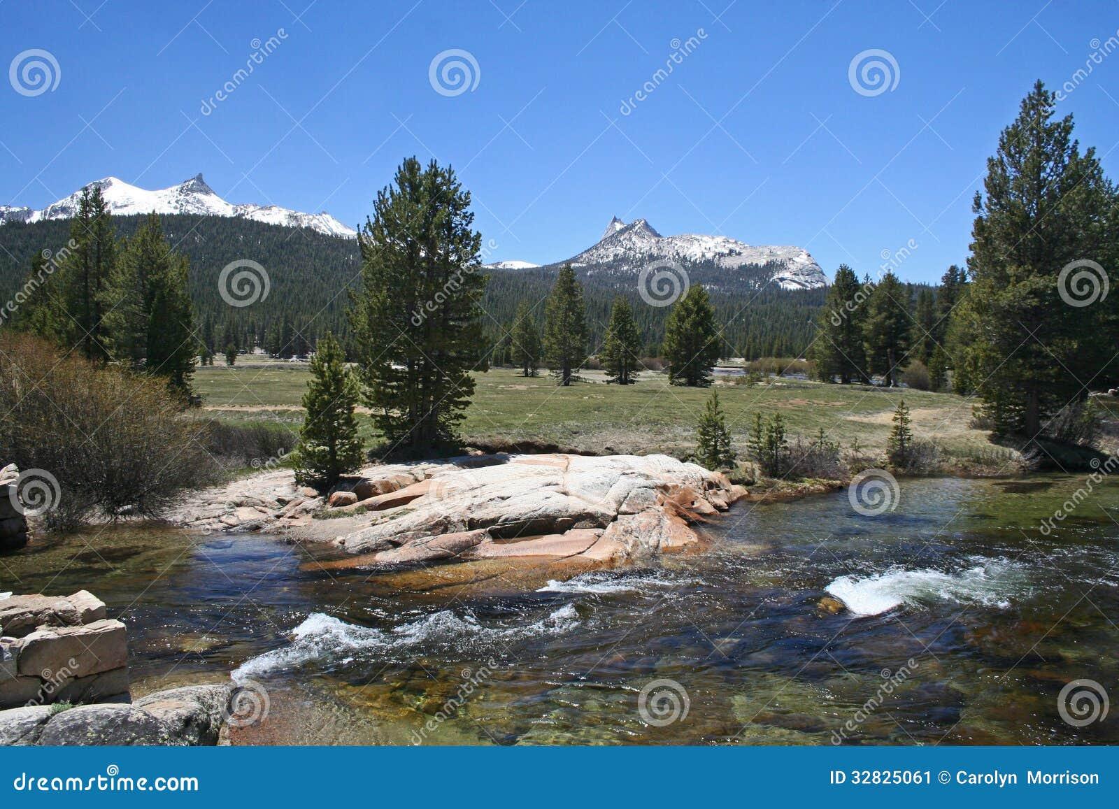 Tuolumne łąki, Tioga przepustka, Yosemite
