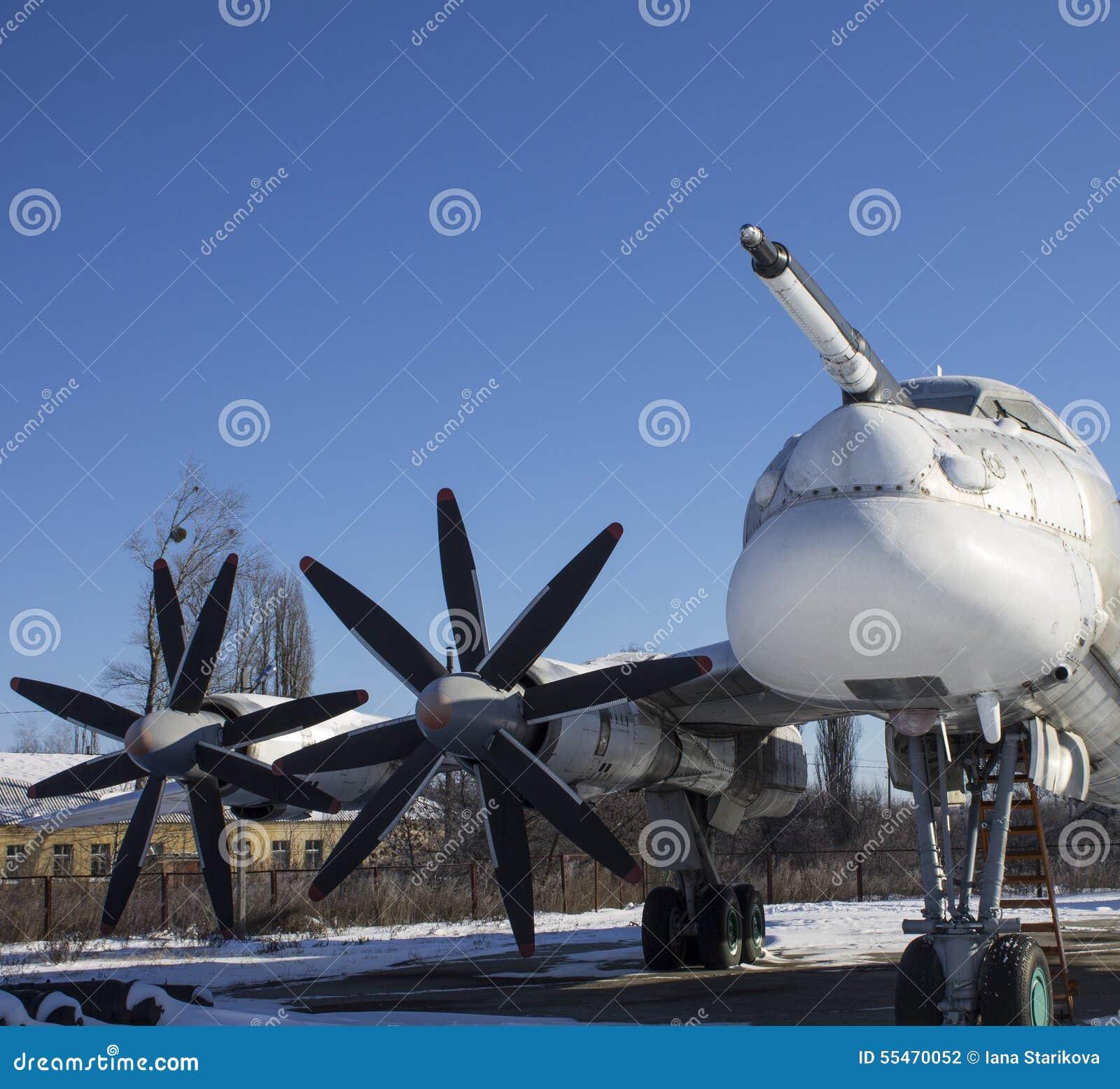 Tupolev Tu-95 auf Ukraine-Luftfahrt-Museum, Poltava