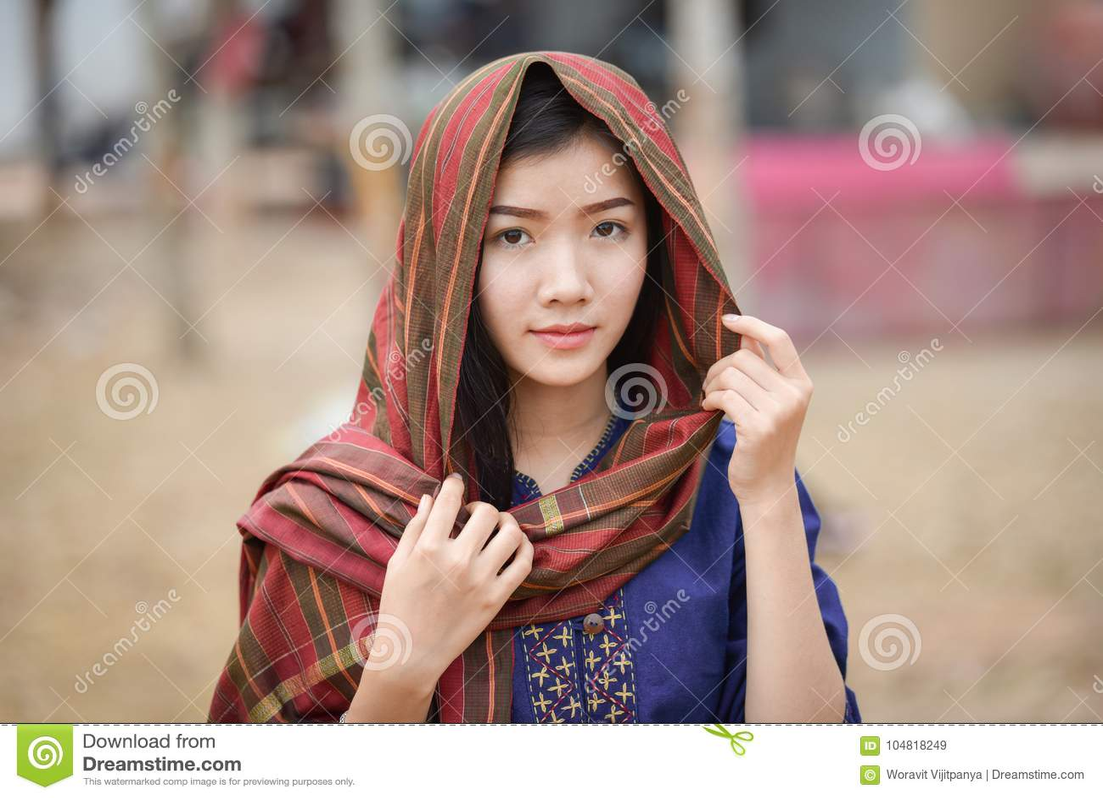 Asian girl southeast