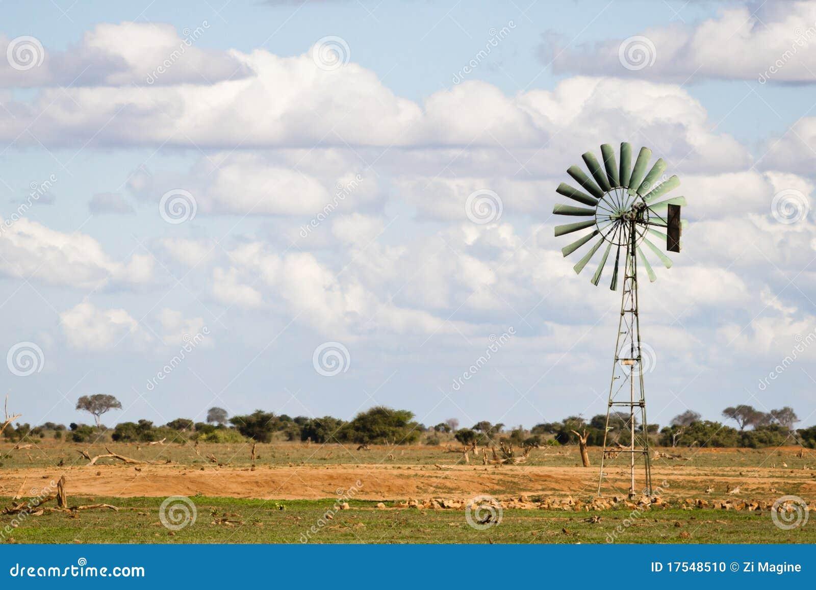 Turbina de vento em África