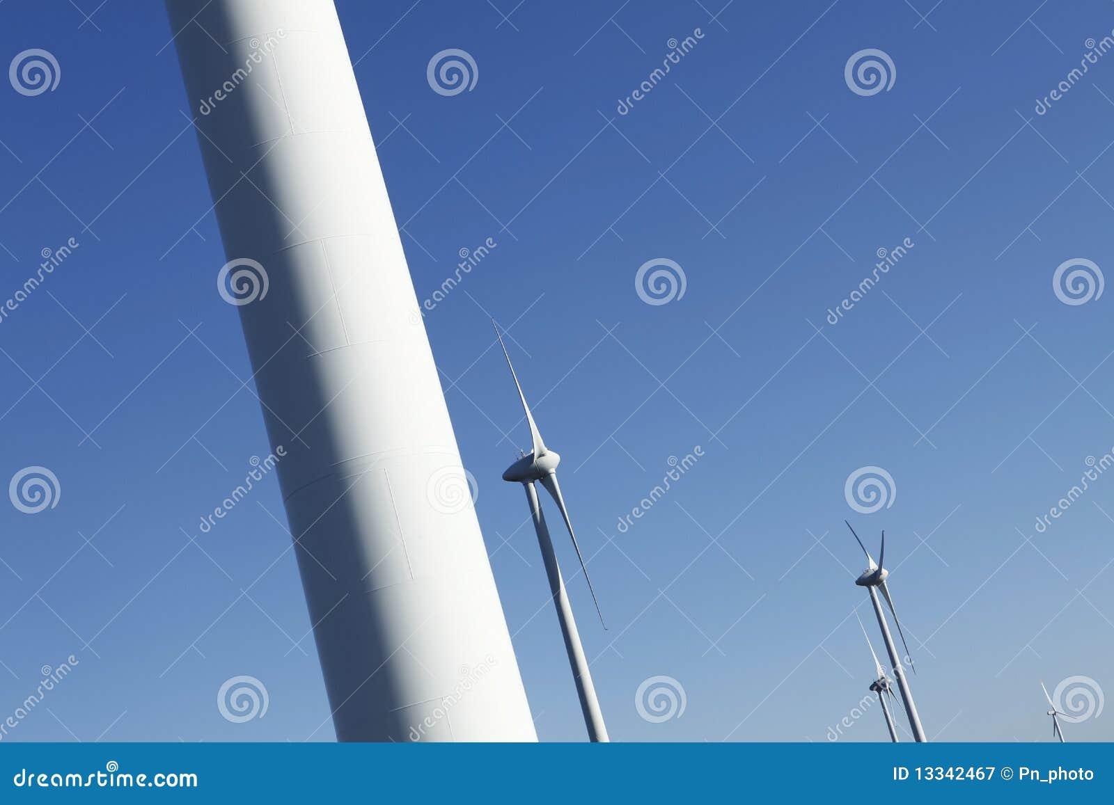 Turbina energetyczny wiatr