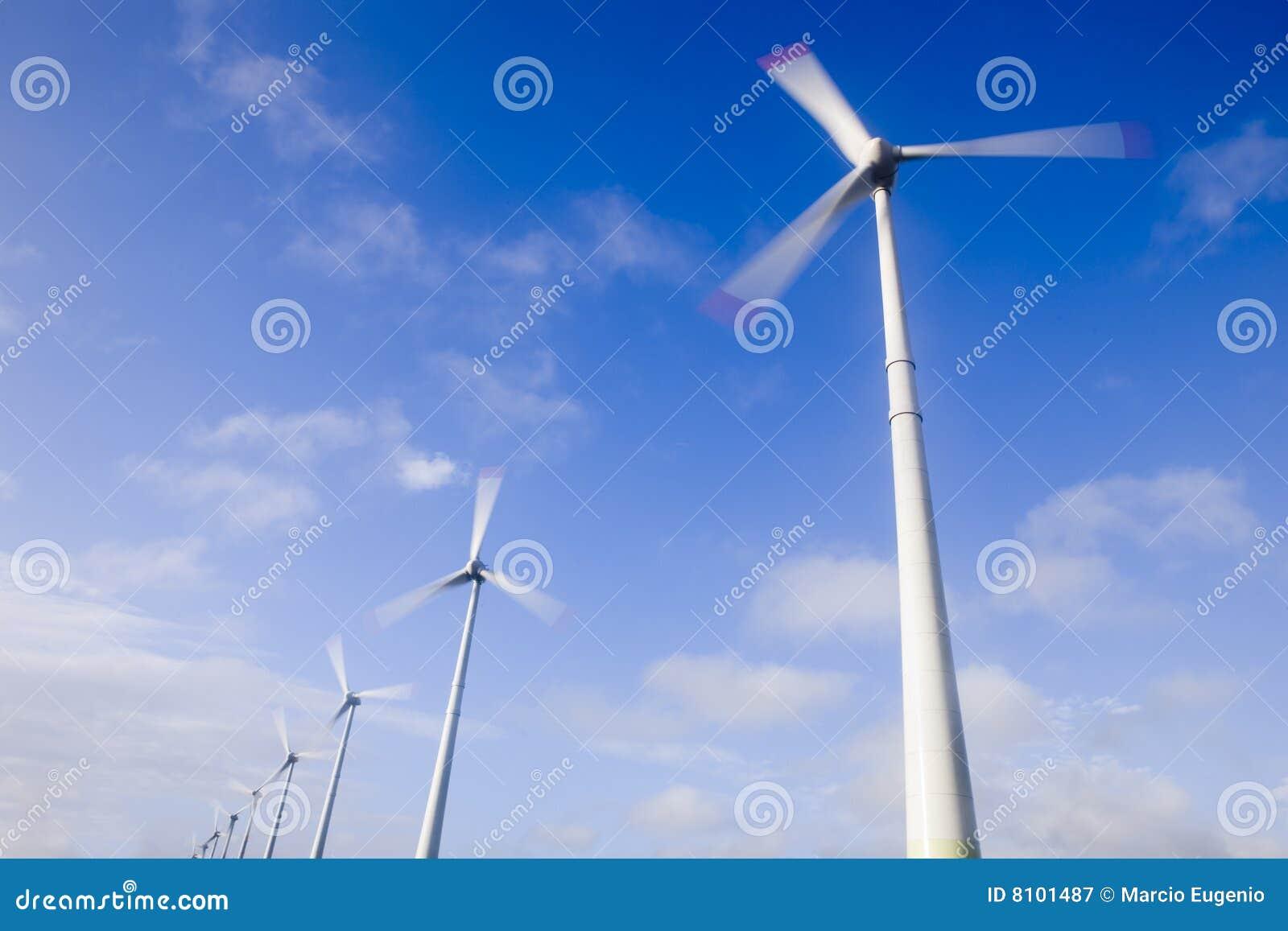 Turbinas de ventos grandes