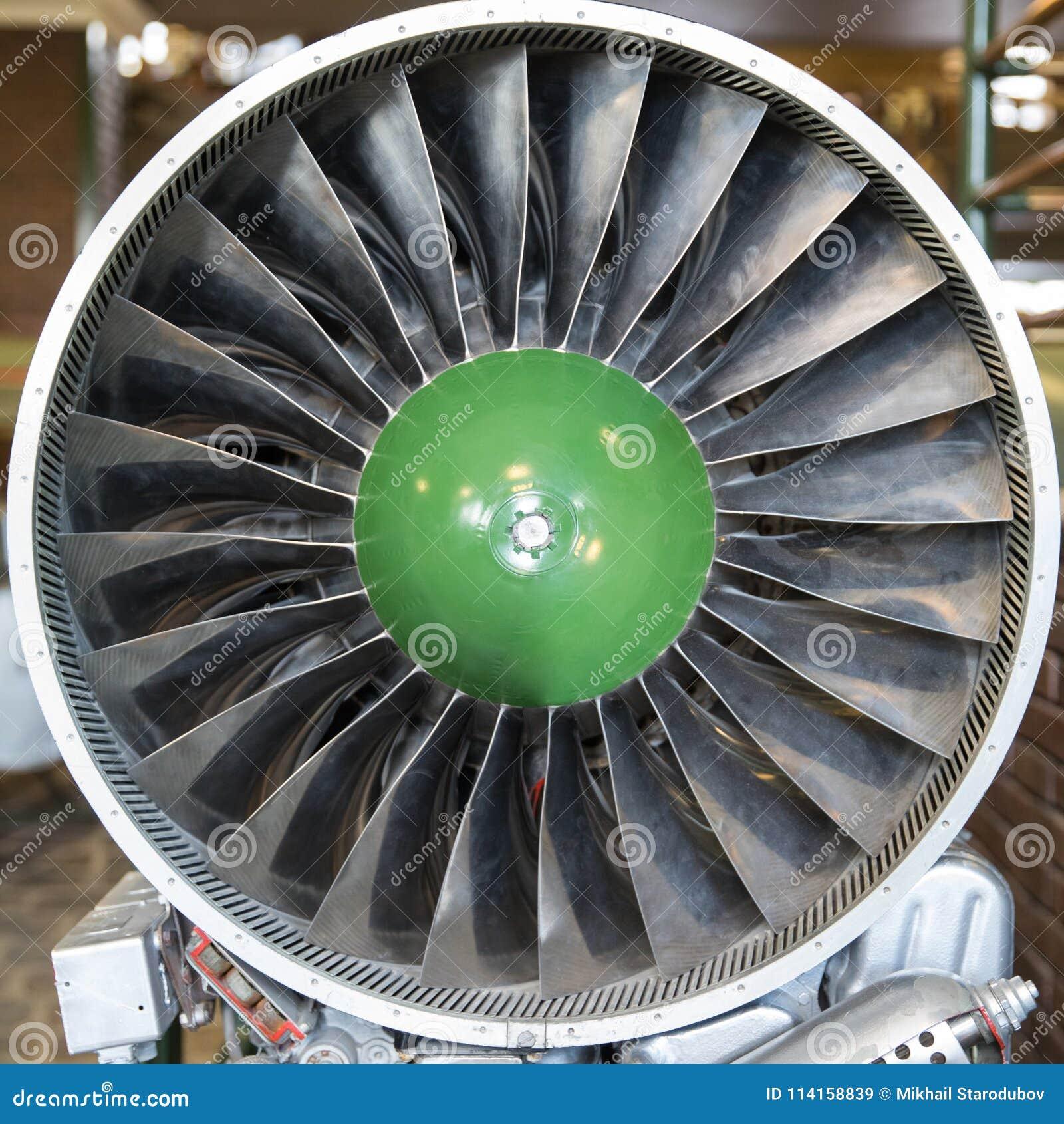 Turbine Blades Of Turbo Jet Engine For Plane, Aircraft