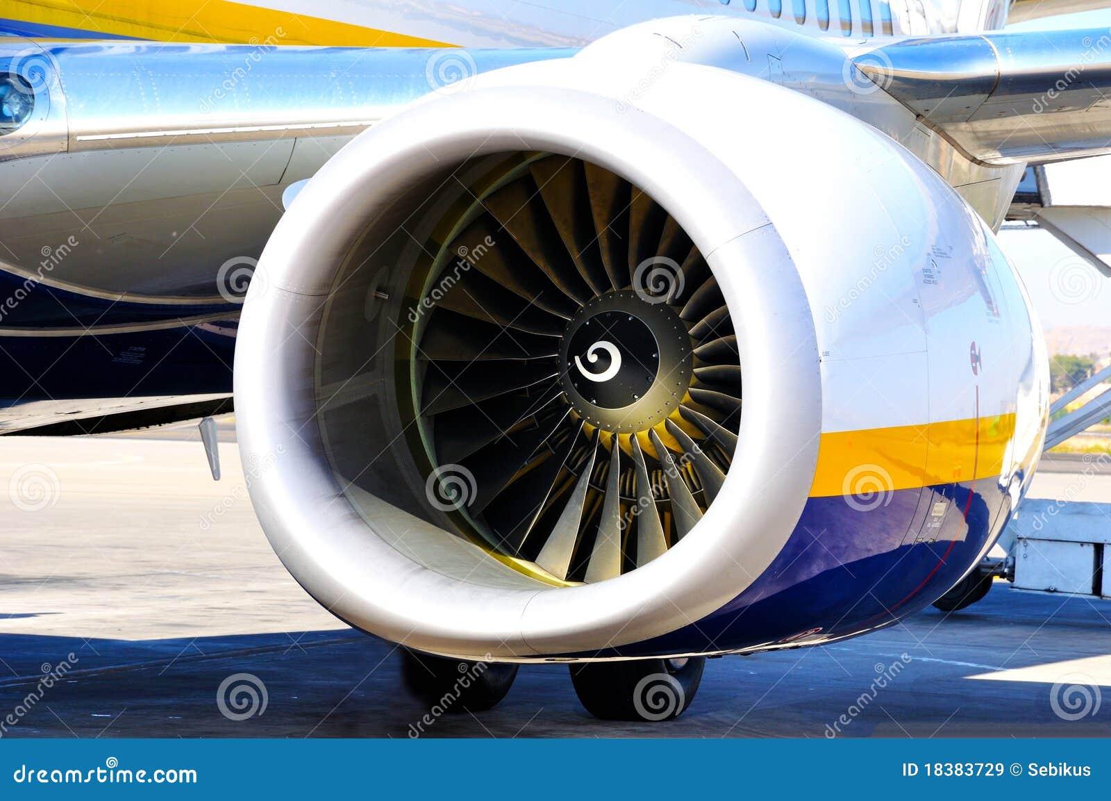 Turbine der Flugzeuge