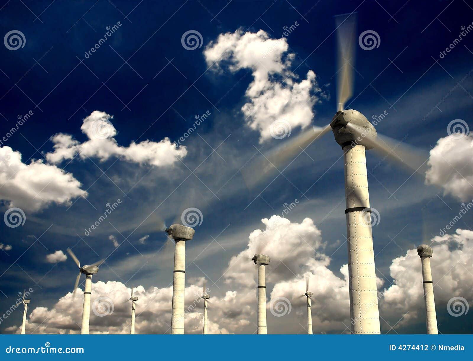 Turbine di energia eolica