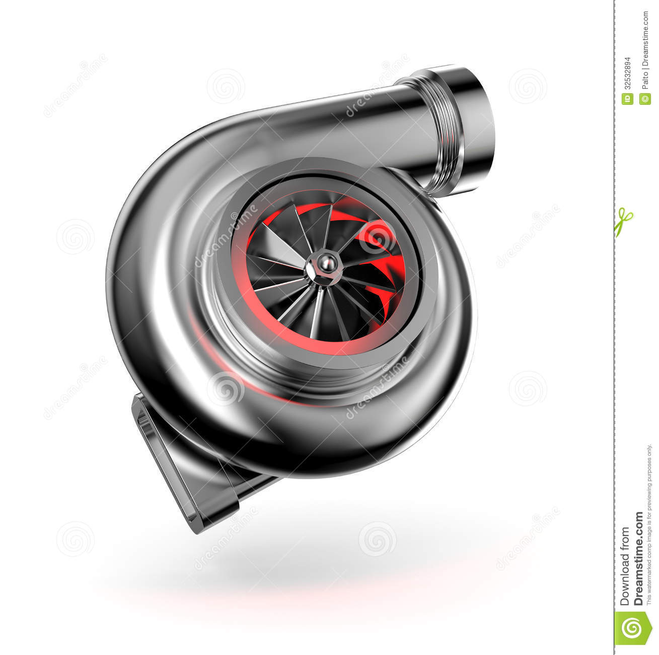 Turbocharger Turbine For Auto Stock Images Image 32532894