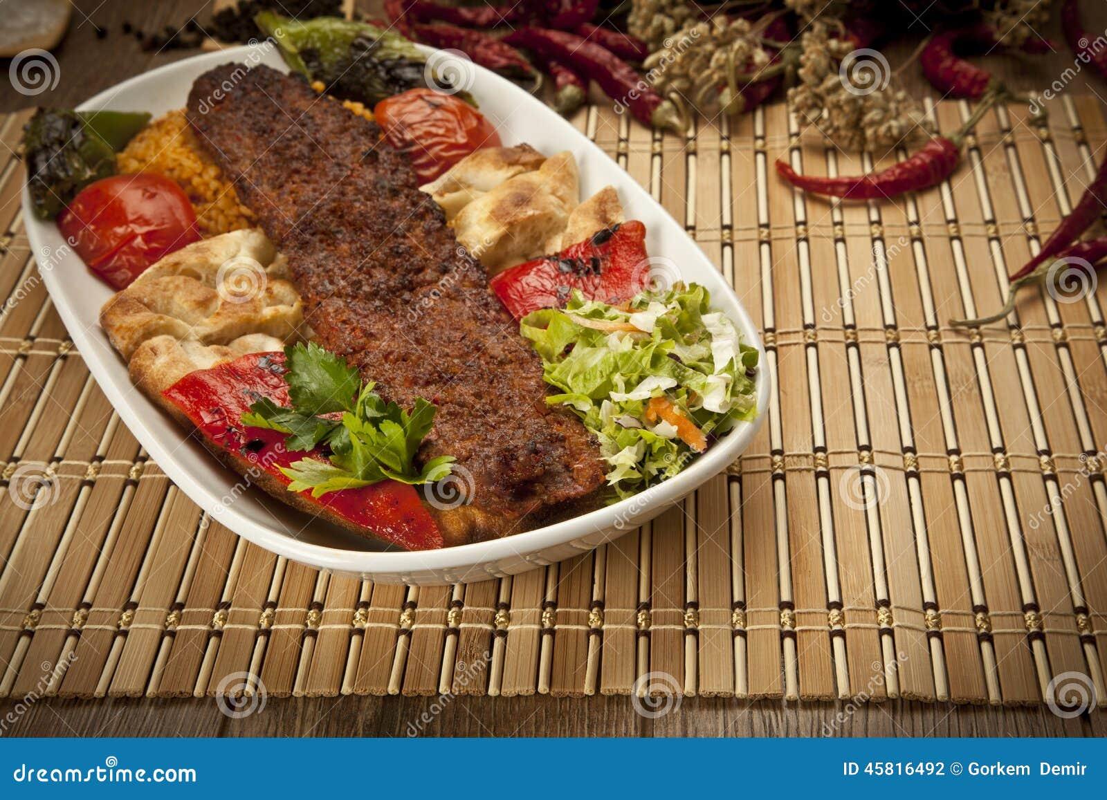 Turecczyzny Adana kebab
