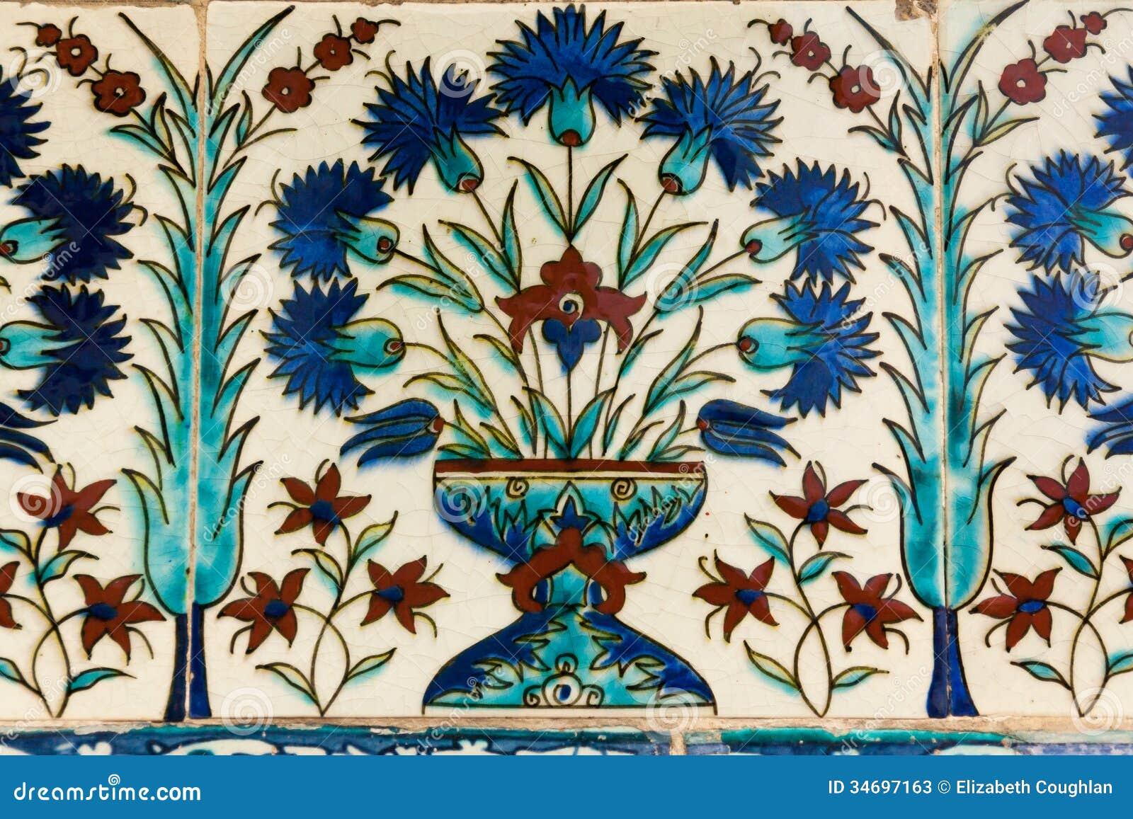 Turecka Ceramiczna płytka