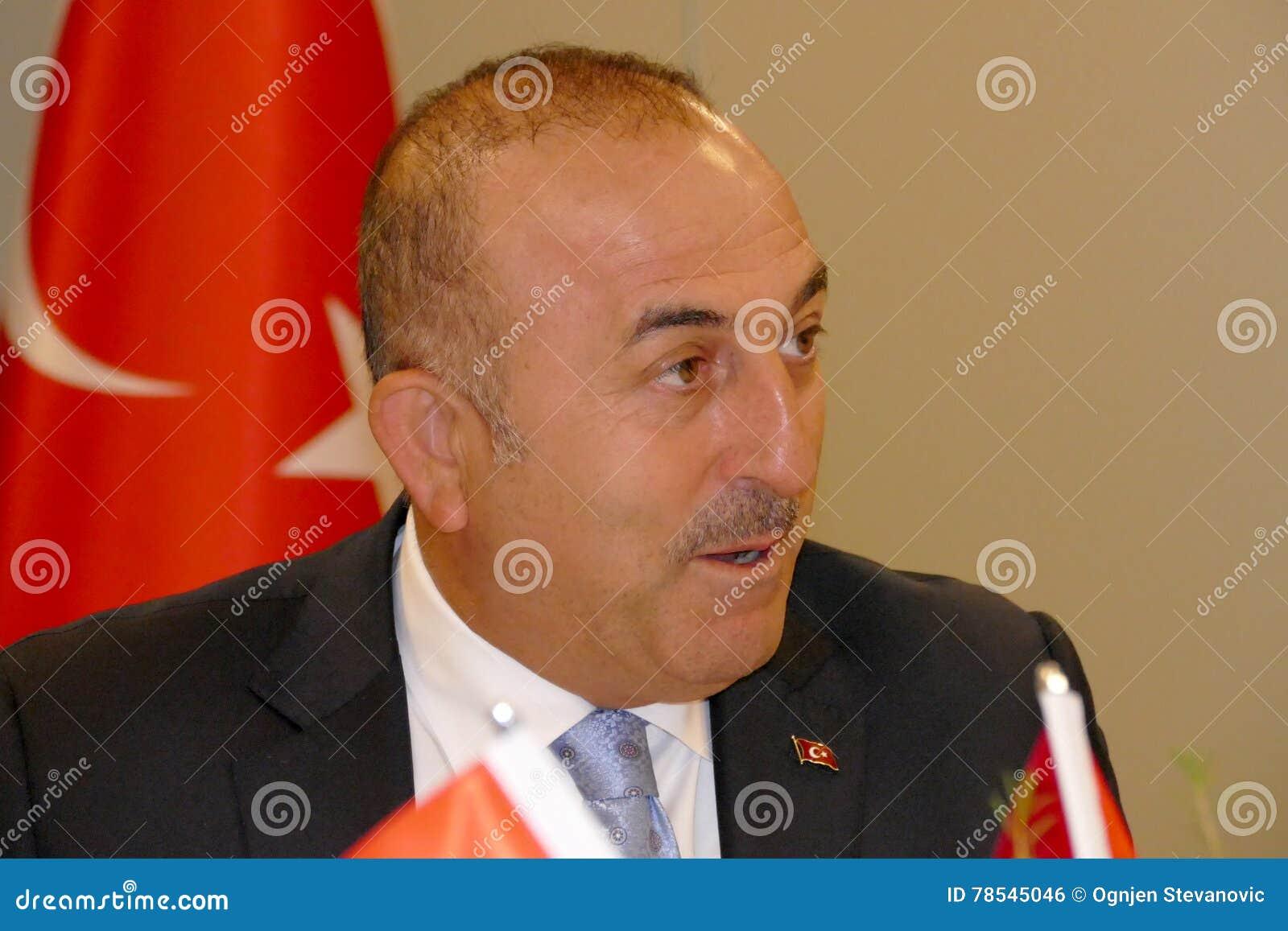 Turecki minister spraw zagranicznych Mevlut Cavusoglu