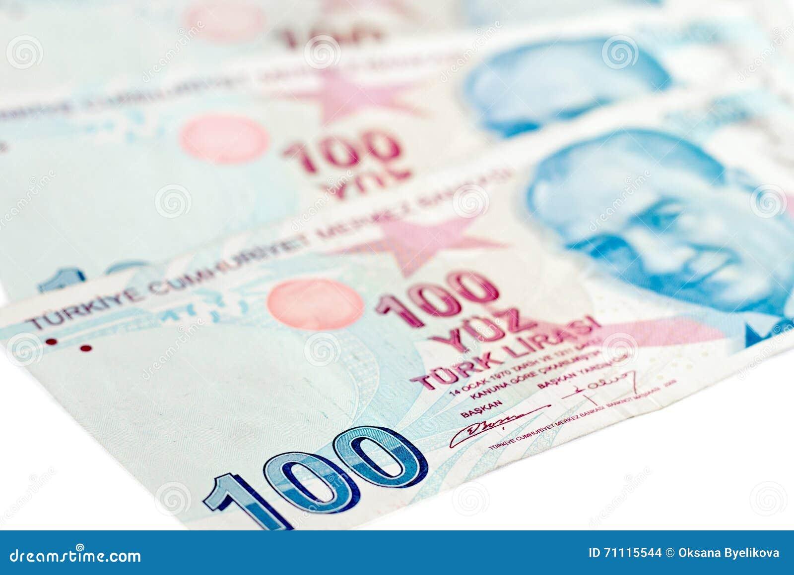 Tureckiego lira banknoty 5000 tło rachunków pieniądze rubli wzoru