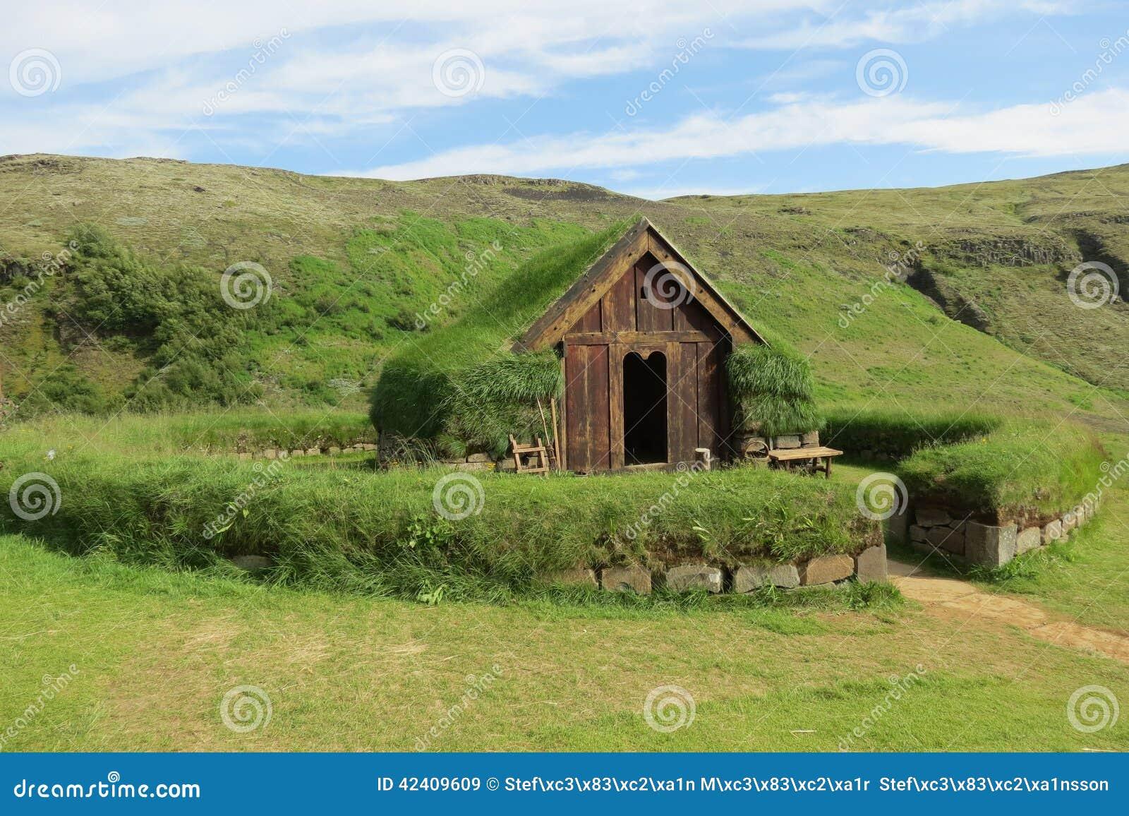 Turf House Stock Image Image Of 237 Sland Iceland Country