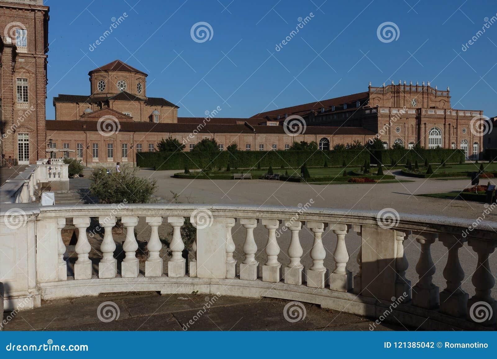 Turin der königliche Palast von Venaria Reale