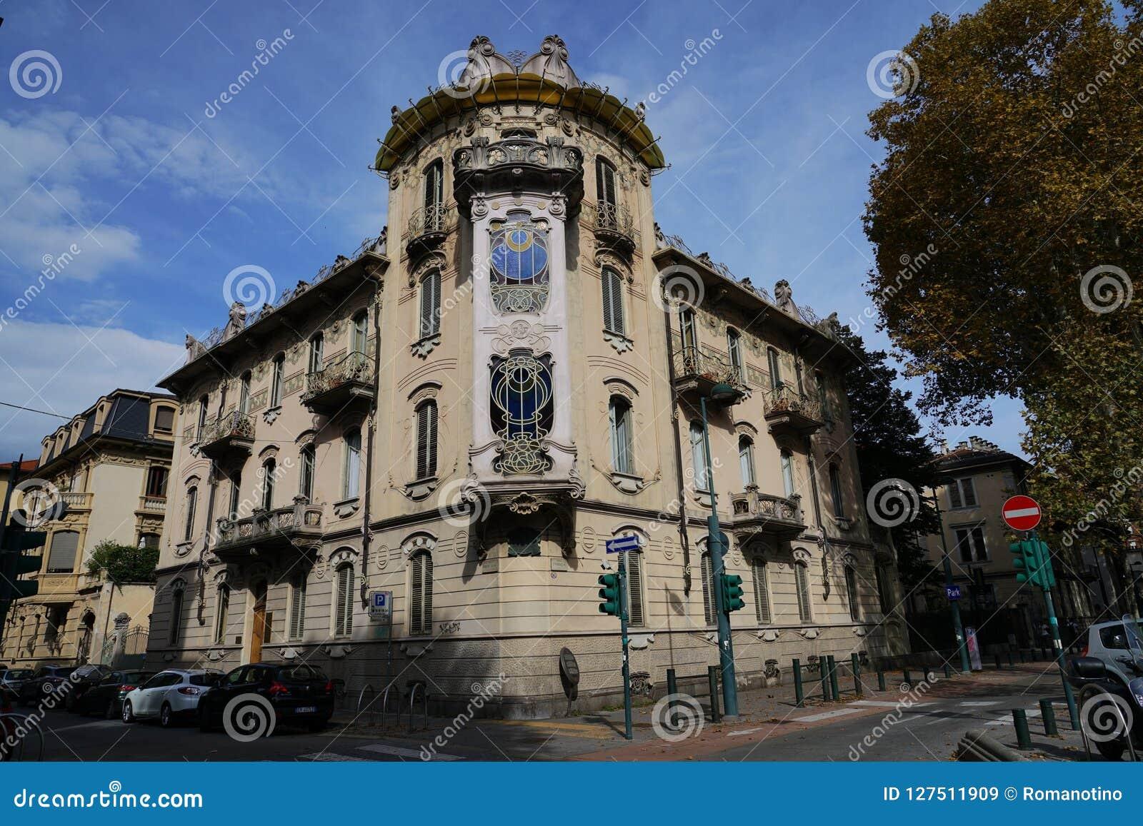 Turin The Fenoglio-Lafleur House
