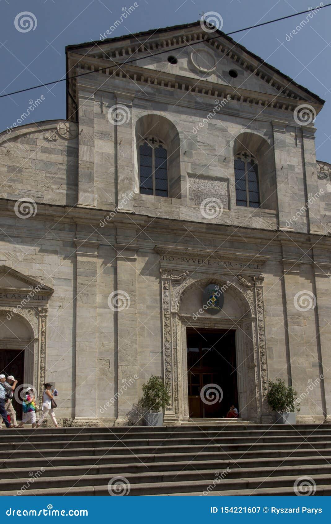 Turin Italy, June 27, 2019: Duomo Di Torino San Giovanni