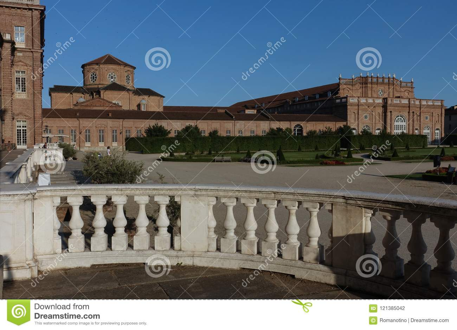 Turin le palais royal de Venaria Reale
