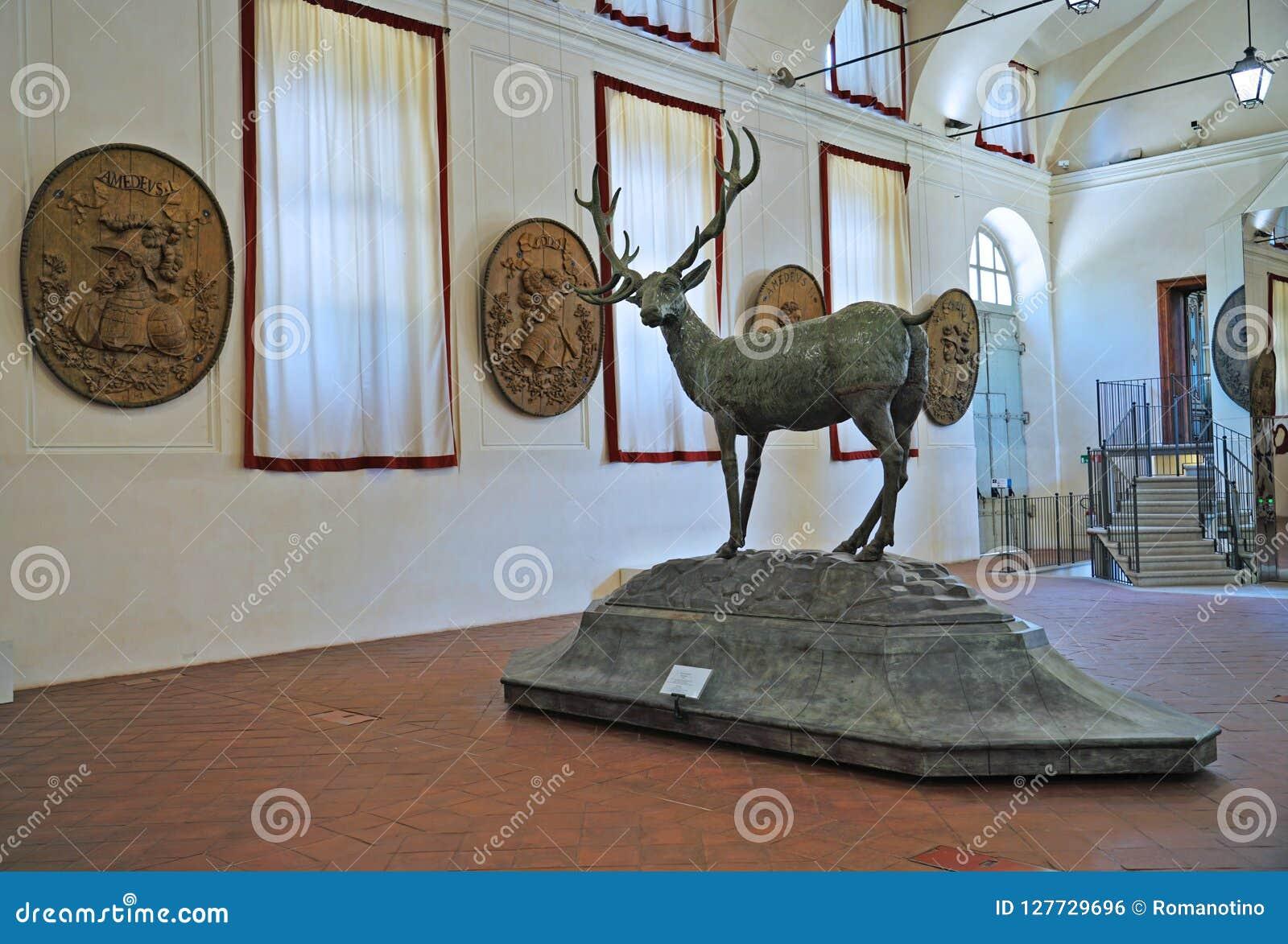 Turin o alojamento de caça de Stupinigi