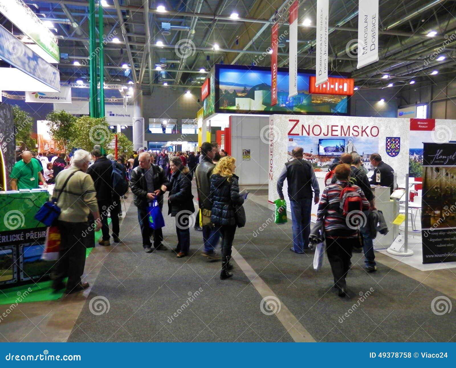 Turismmässa i Brno