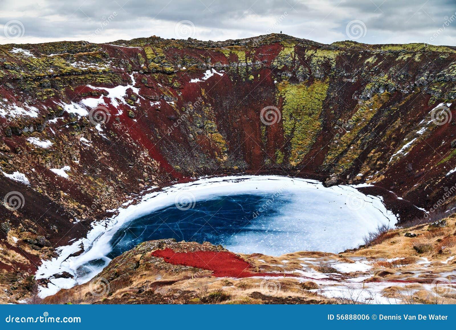 Turismo del lago del cratere di Kerid