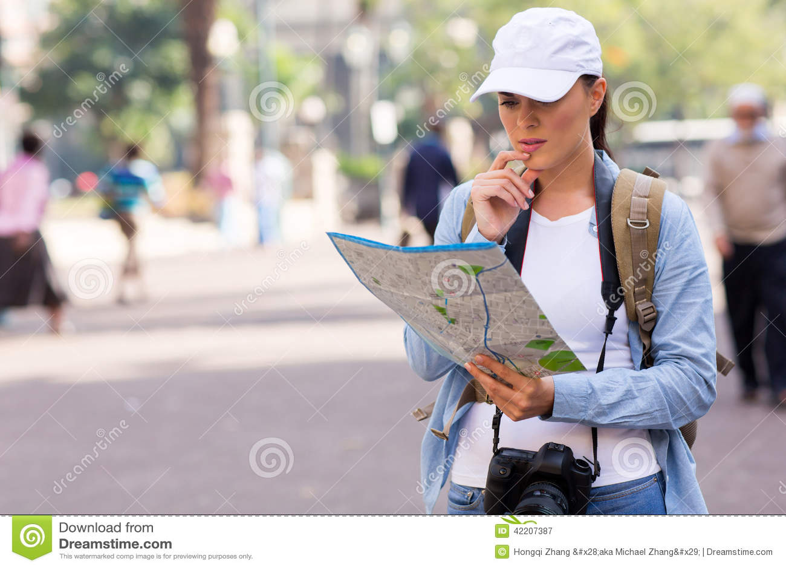 Turist- gataöversikt