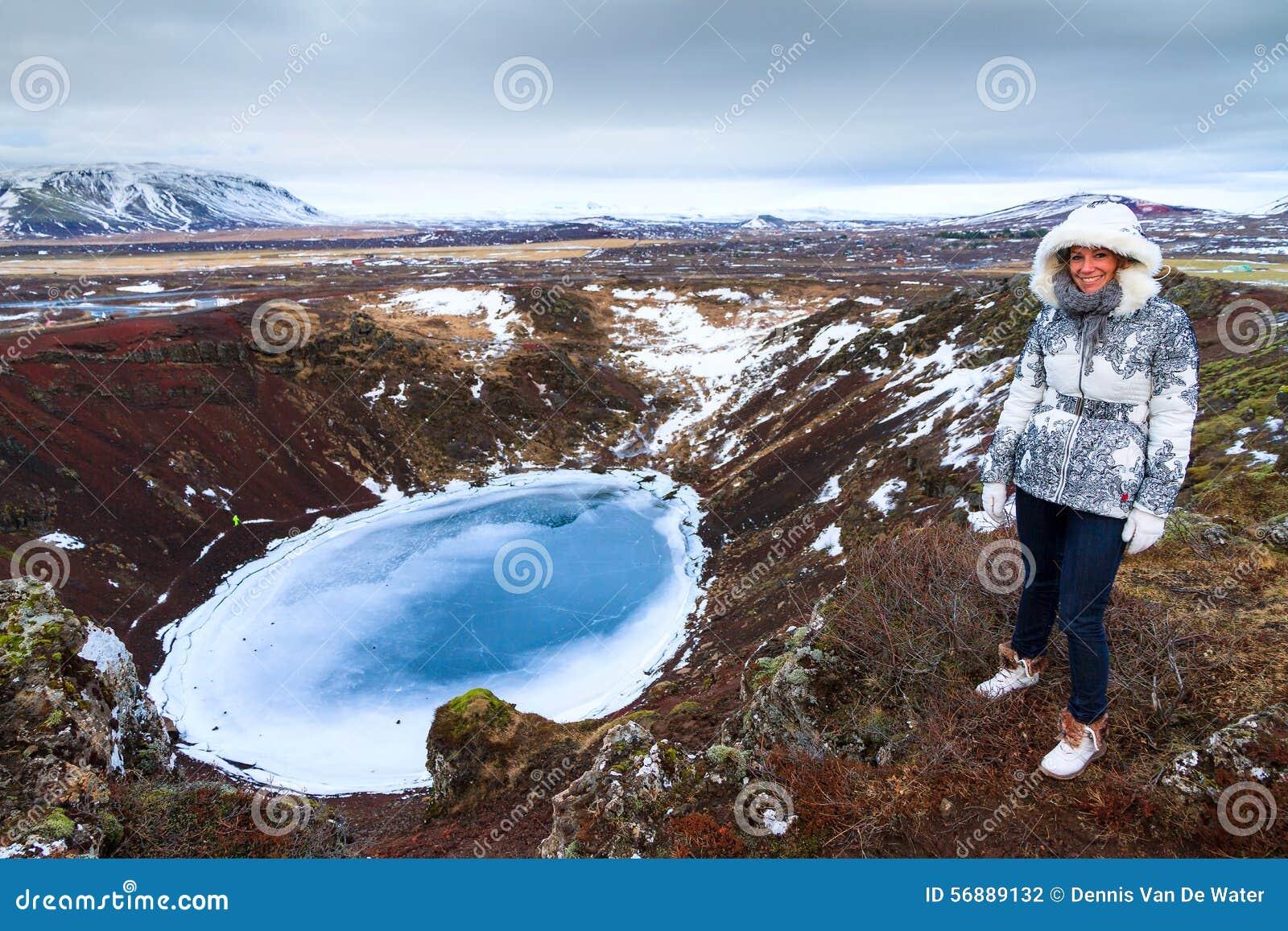 Turista del vulcano