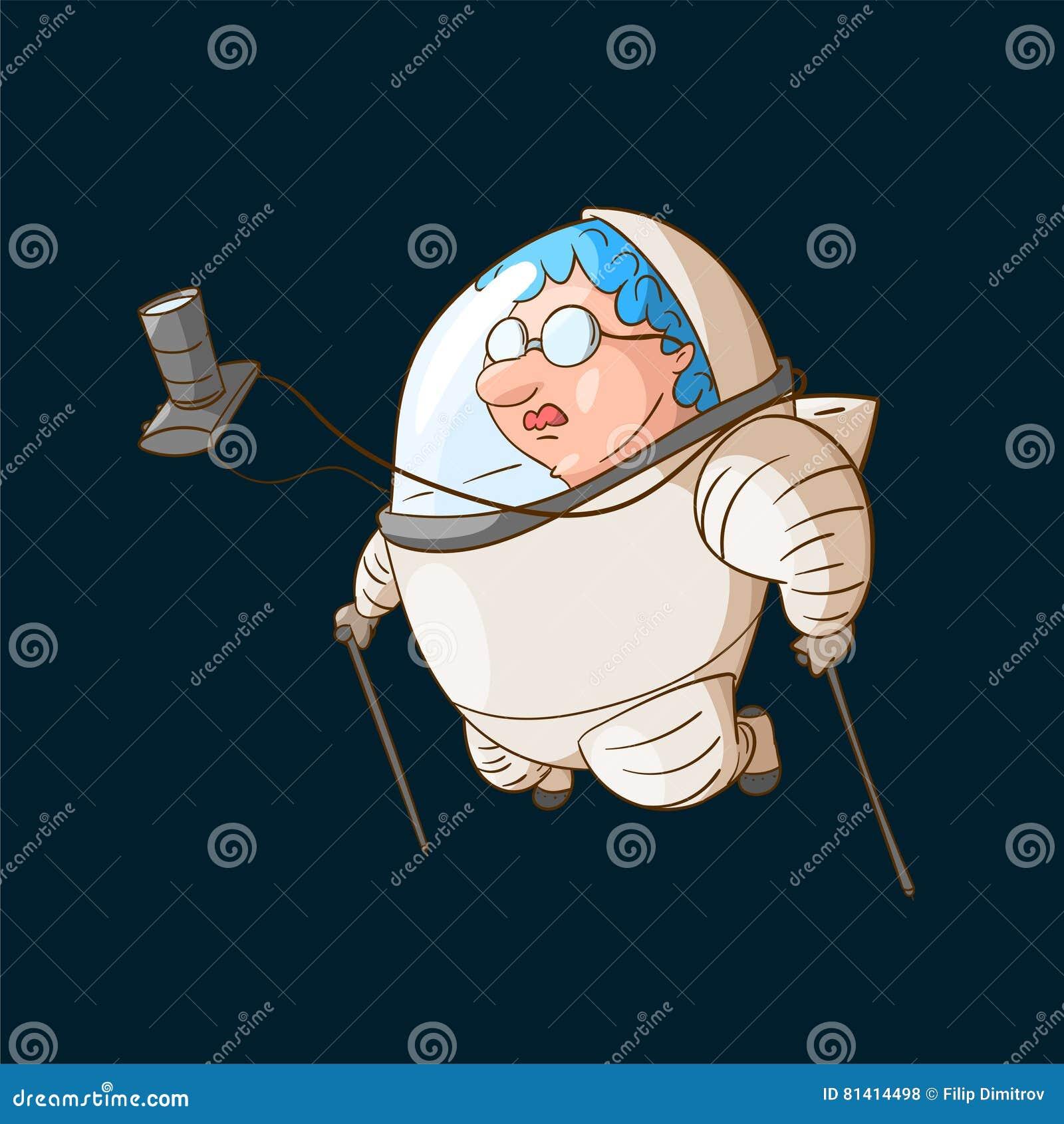 Turista do espaço na gravidade zero