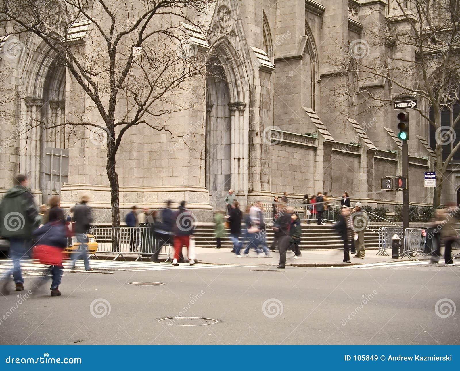 Turistas do St. Patrick