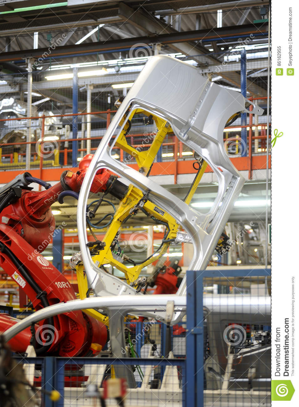 Turkey Automotive Factory editorial image  Image of line