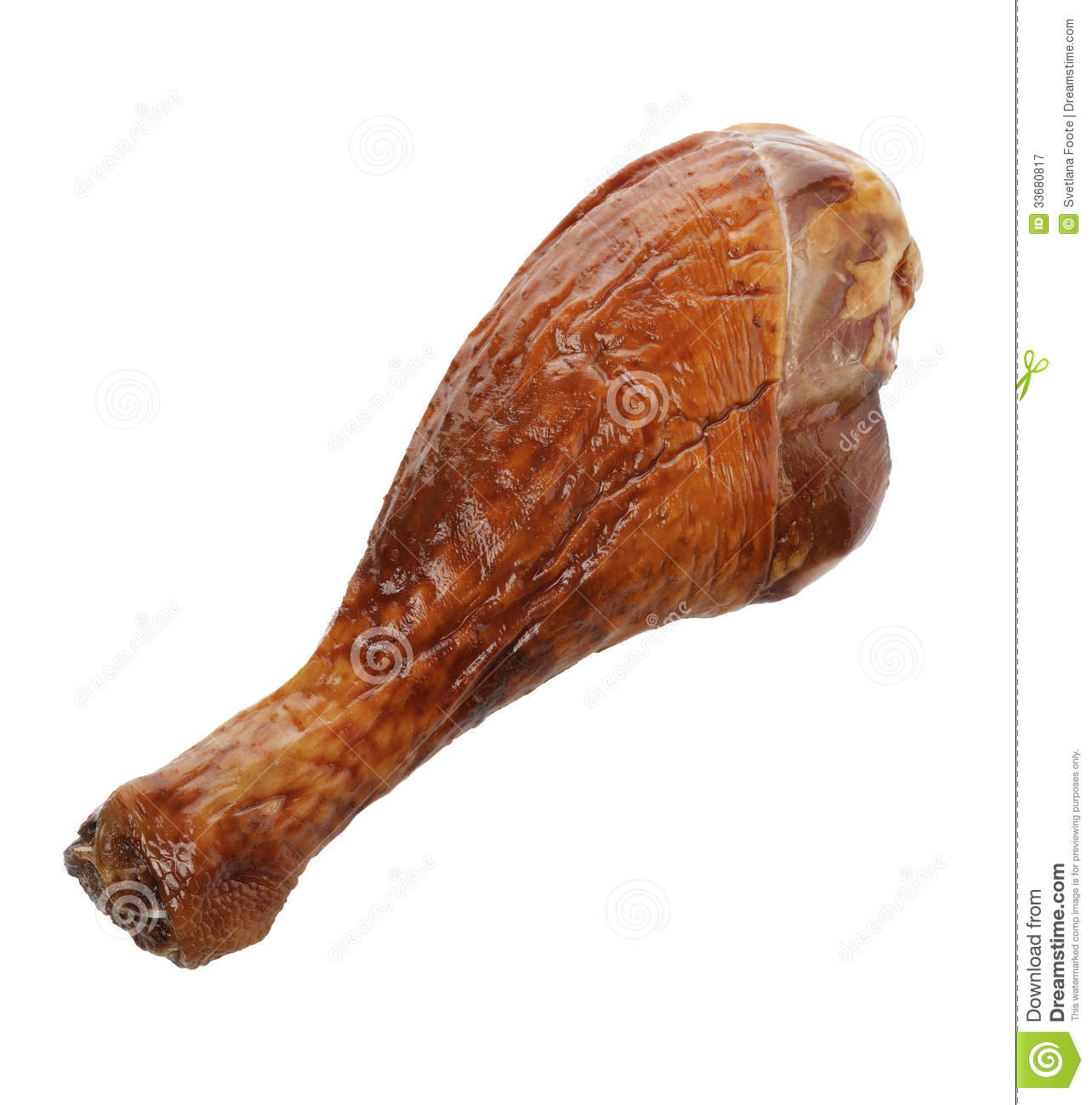 Turkey Drumstick Royalty Free Stock Photography - Image: 33680817
