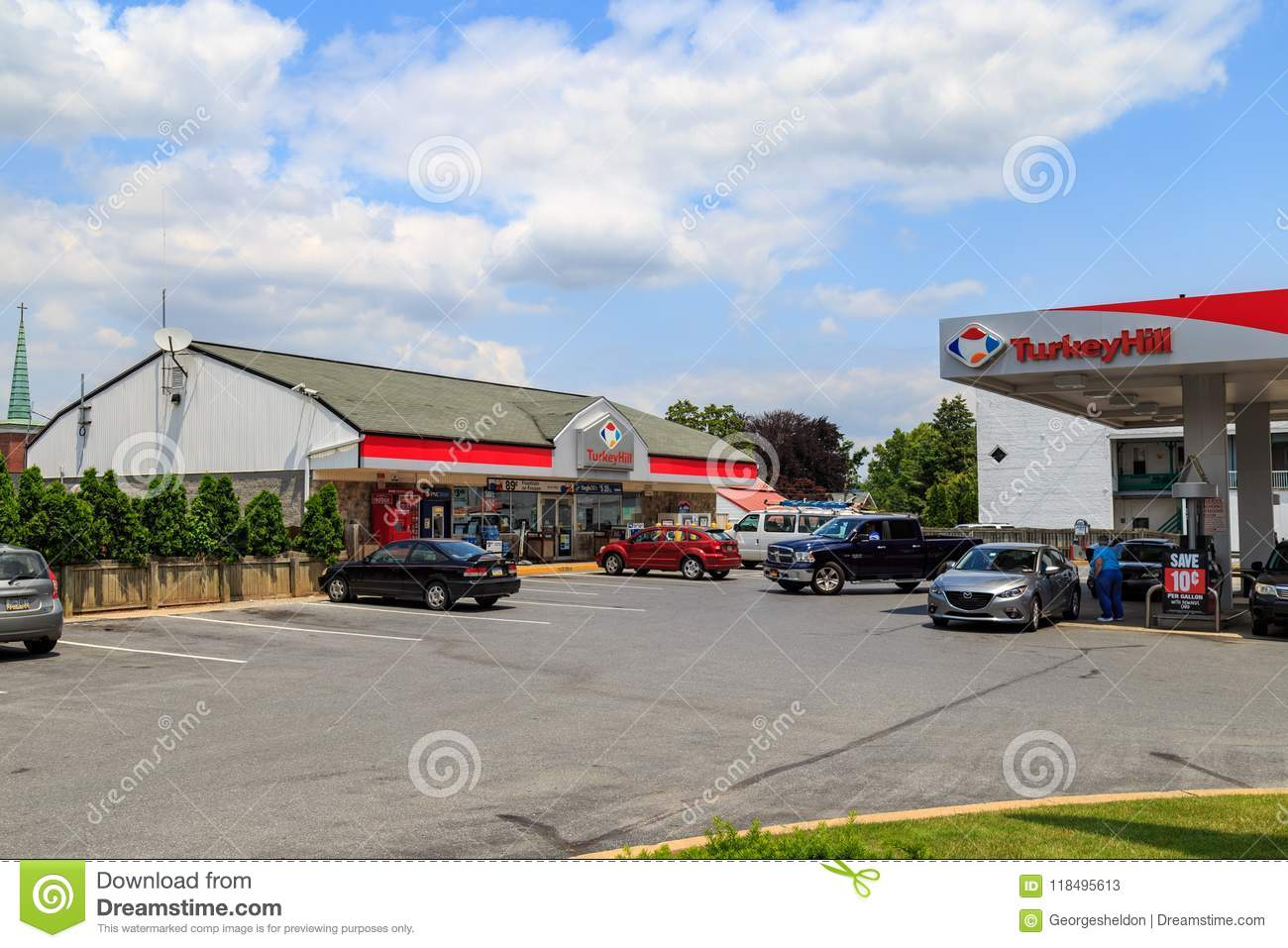 Turkey Hill Minit Markets Editorial Stock Photo Image Of