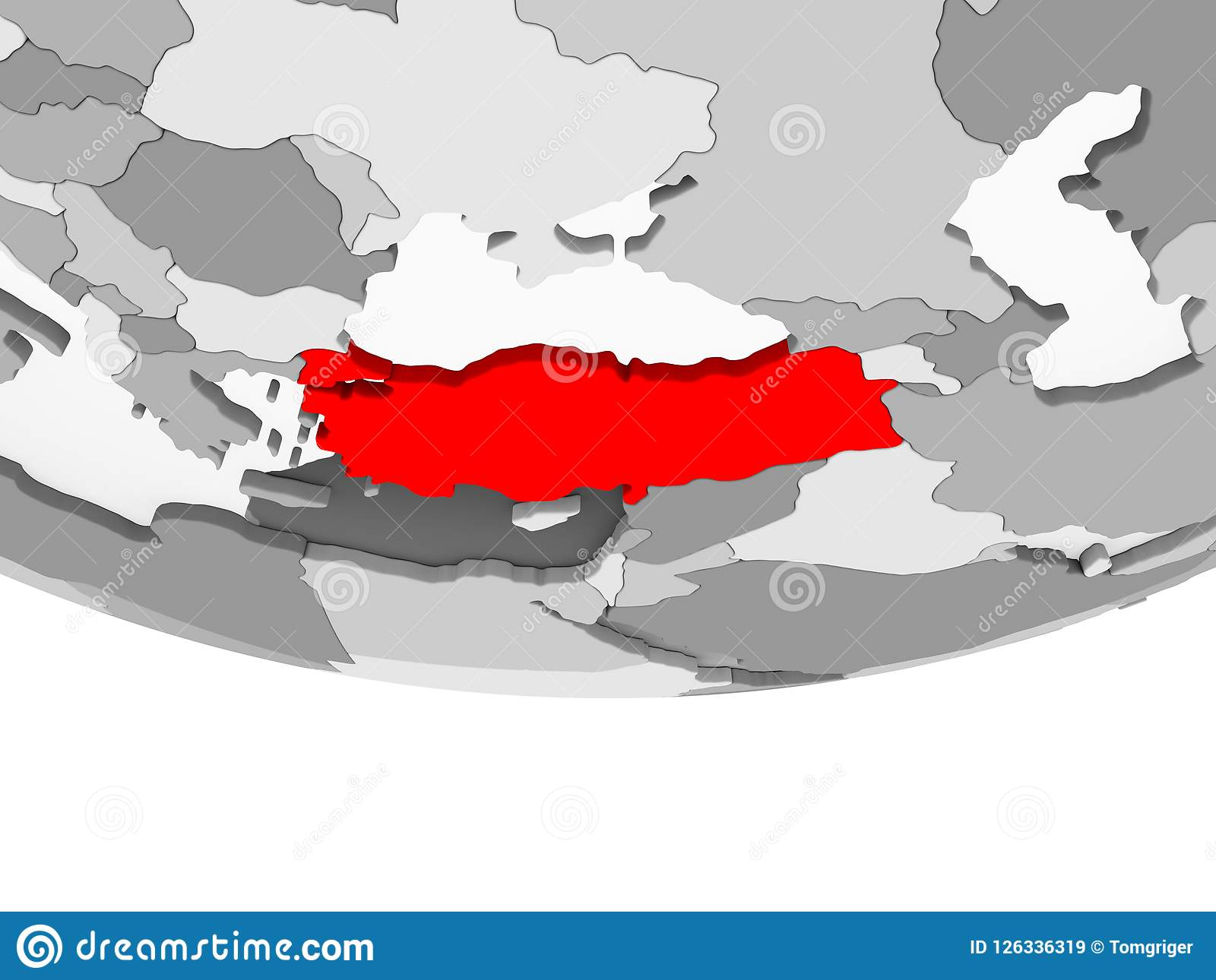 Map Of Turkey On Grey Political Globe Stock Illustration ... Geopolitical Map Of Turkey on tierra del fuego map, topological map, historical map, data visualization map, world map, geographic map, history map, present day map, east and southeast asia map, africa map, cartography map, geographical map, political map, us and north america map,