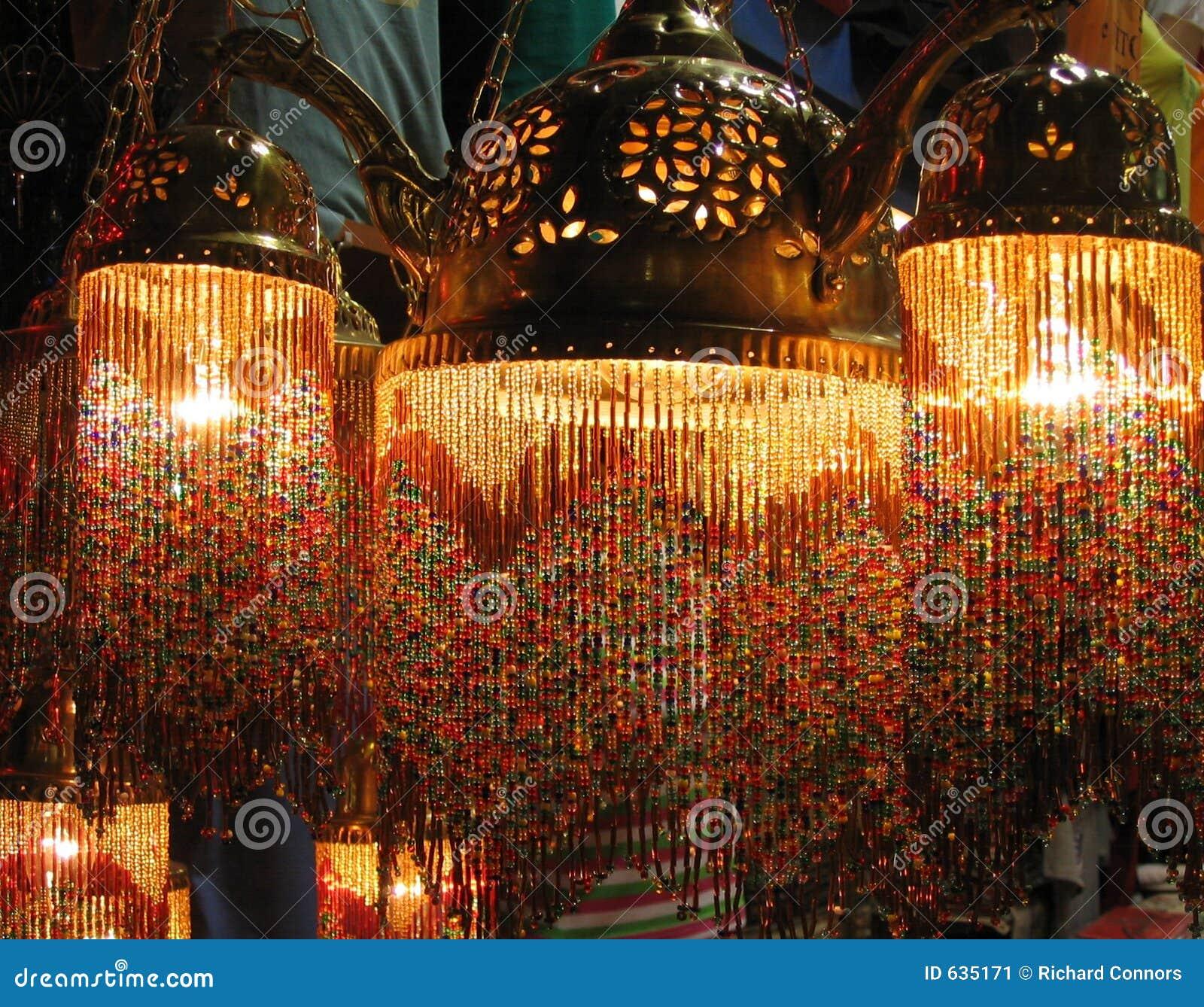 Download Turkish индюка светильников Istanbul базара цветастый грандиозный Стоковое Изображение - изображение насчитывающей каникула, светильник: 635171