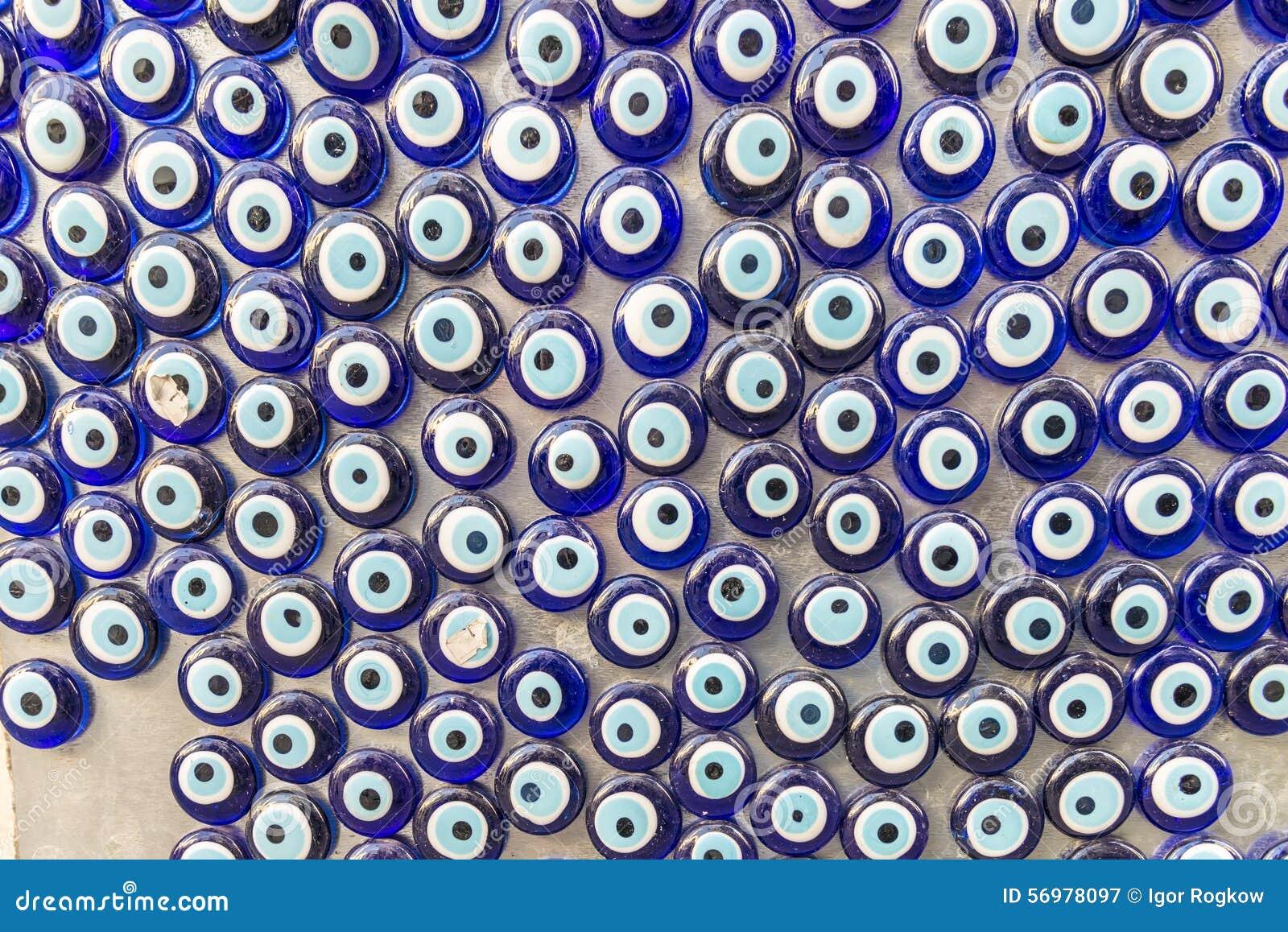 Turkish Home Decor Turkish Amulet Souvenir Glass Eye Nazar Royalty Free Stock