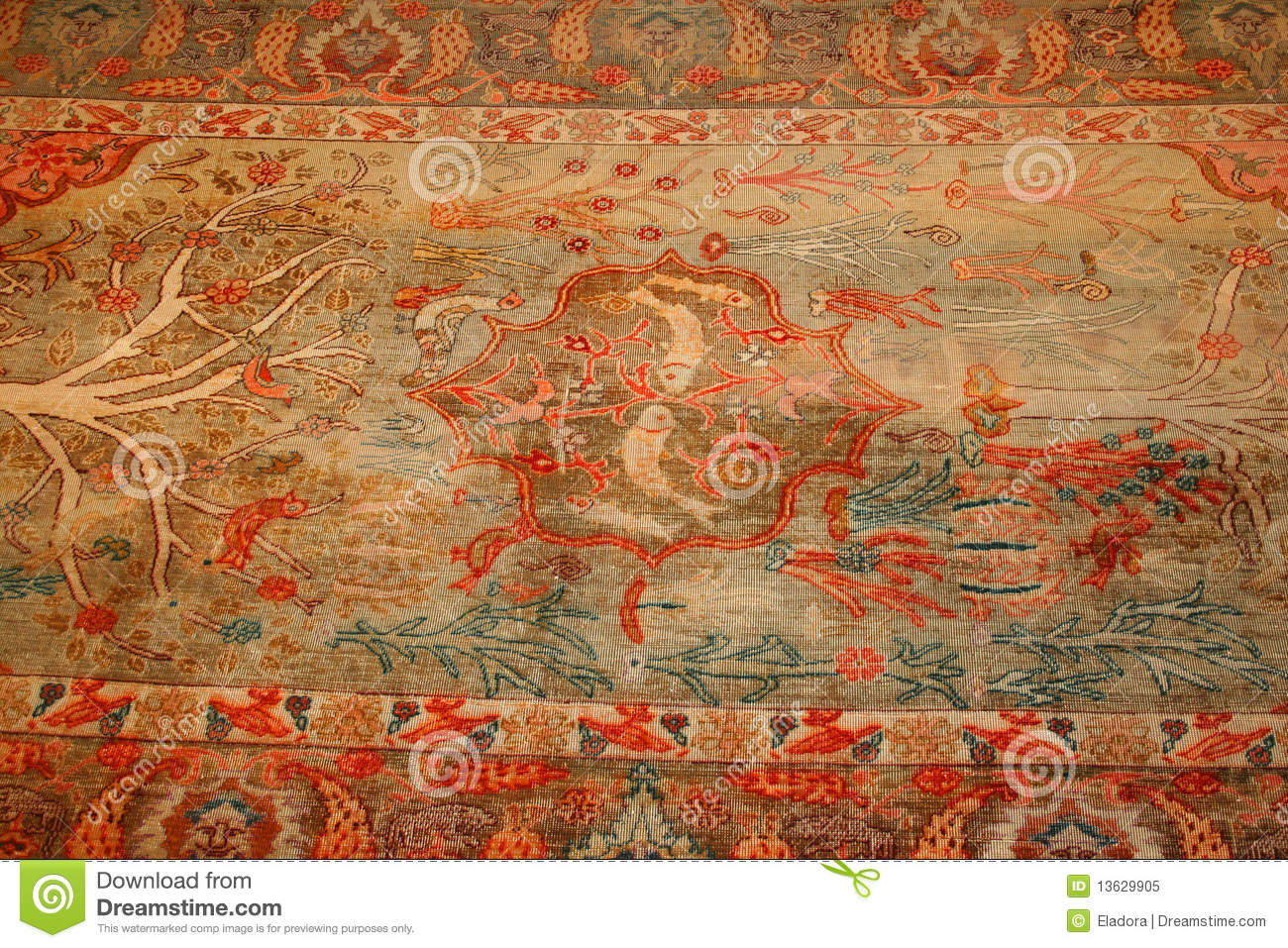 Turkish Carpet Royalty Free Stock Photo Image 13629905