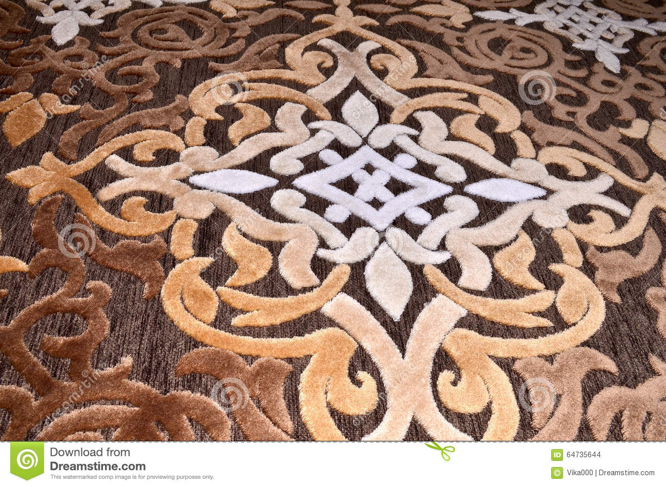 Amazing Acrylic Beautiful Brown Carpet Carved Color Designs ...