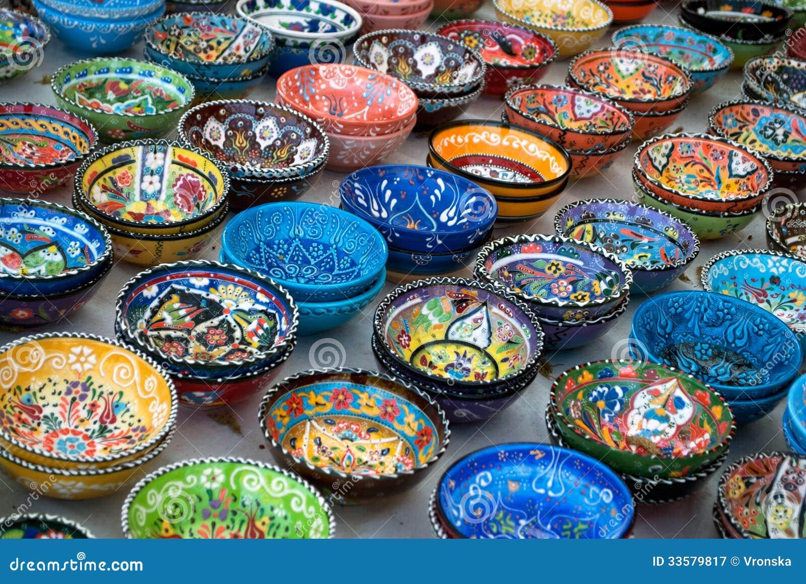 Turkish Ceramics Royalty Free Stock Photography Image