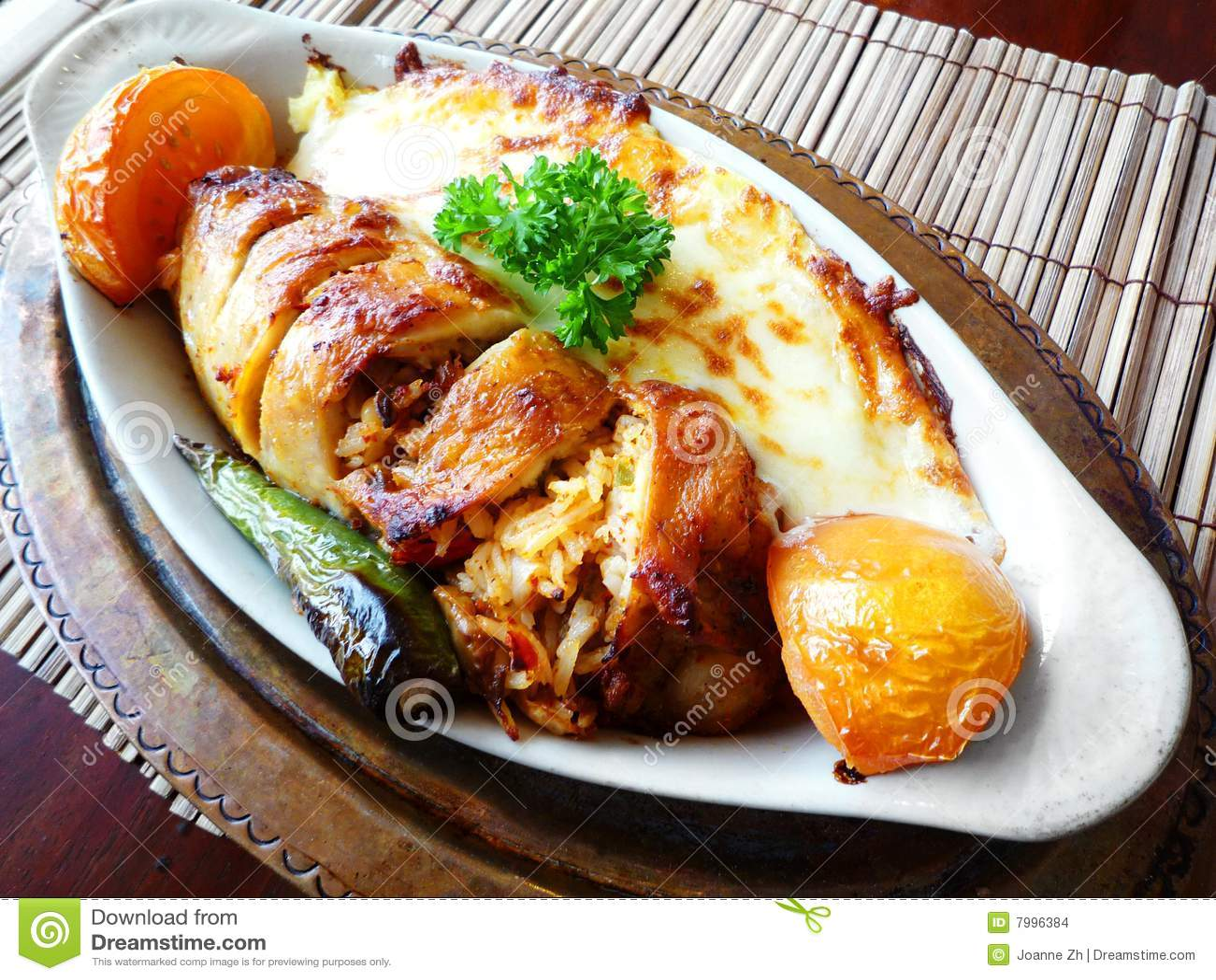 Turkish chicken main dish